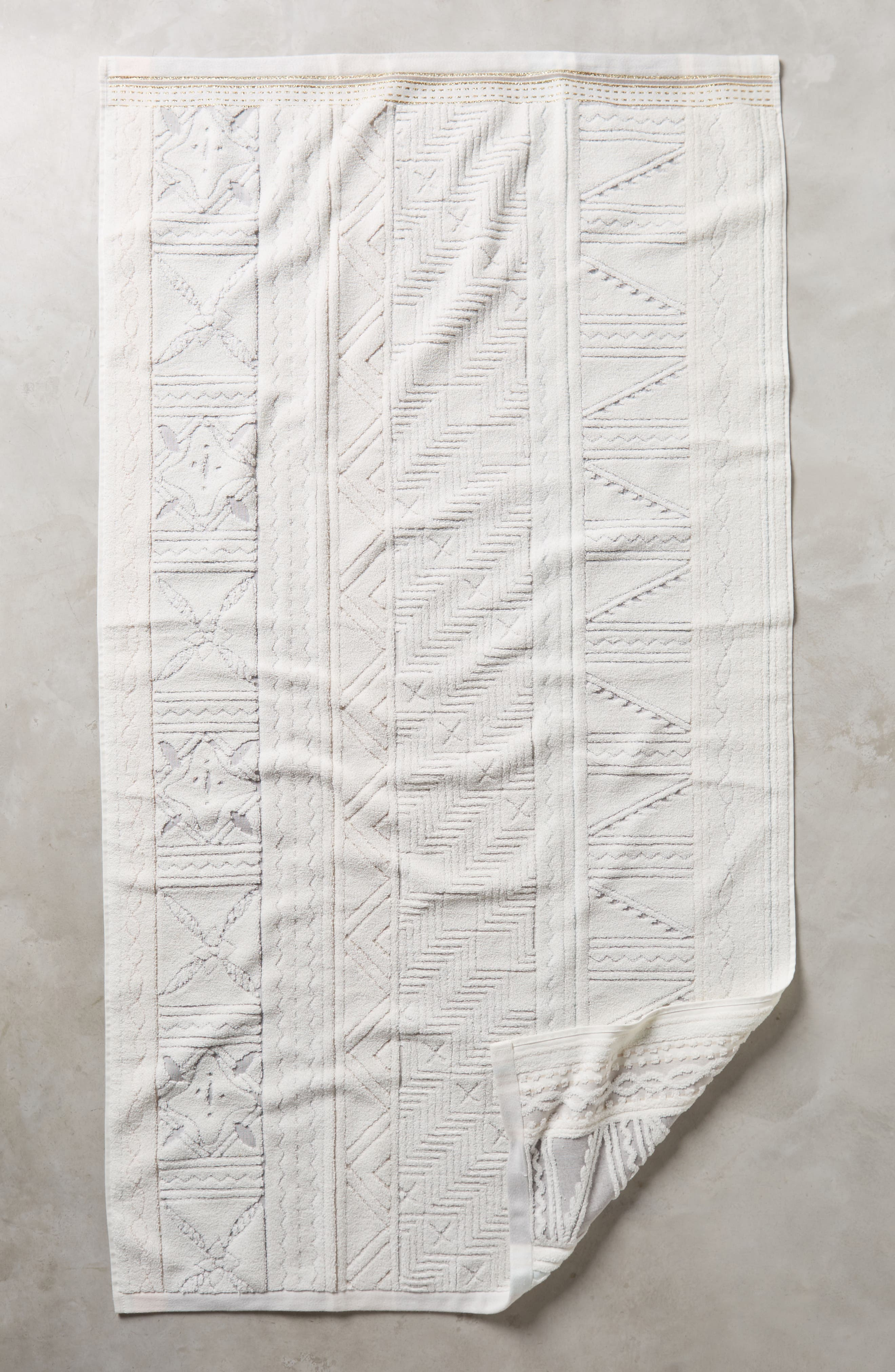 Anthropologie Windstream Bath Towel