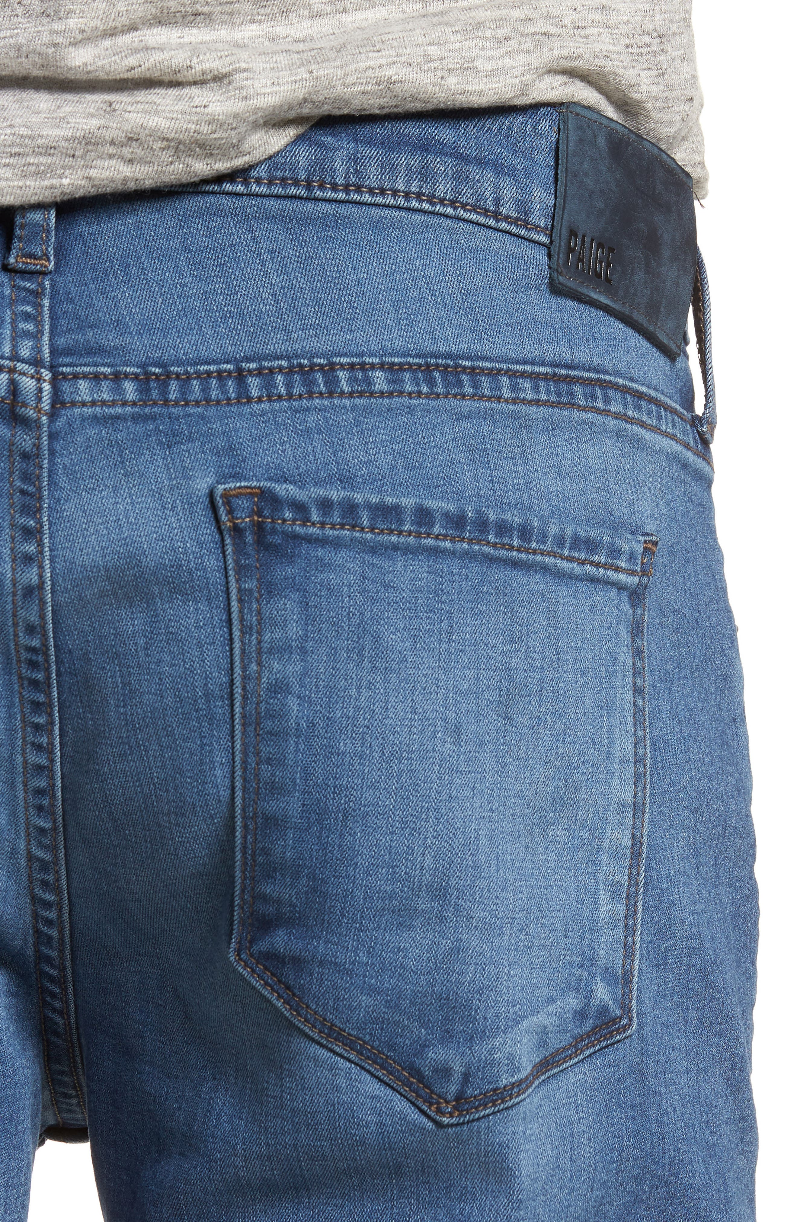 Federal Slim Straight Leg Jeans,                             Alternate thumbnail 4, color,                             Ellice