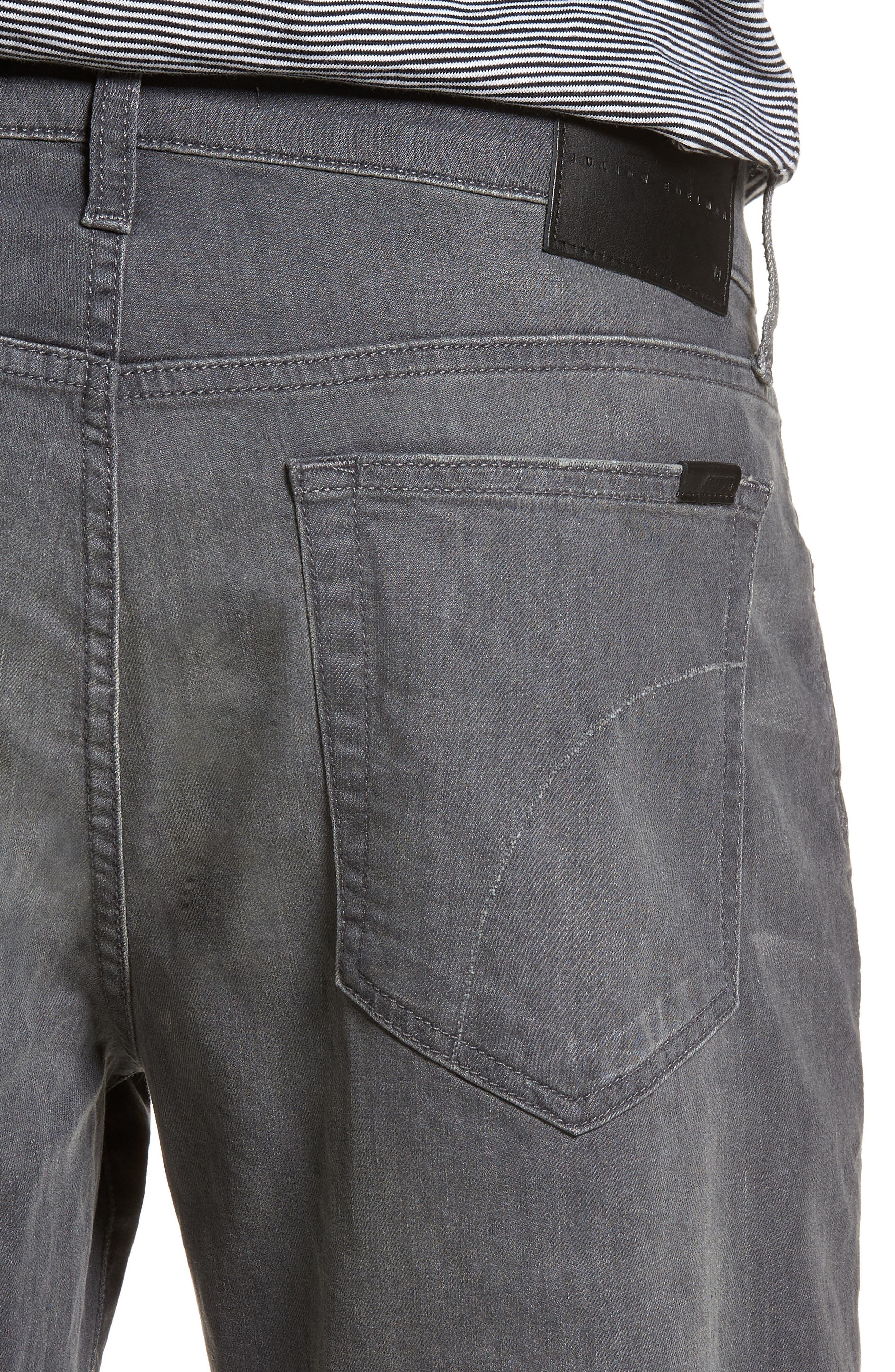 Folsom Athletic Slim Fit Jeans,                             Alternate thumbnail 4, color,                             Julian