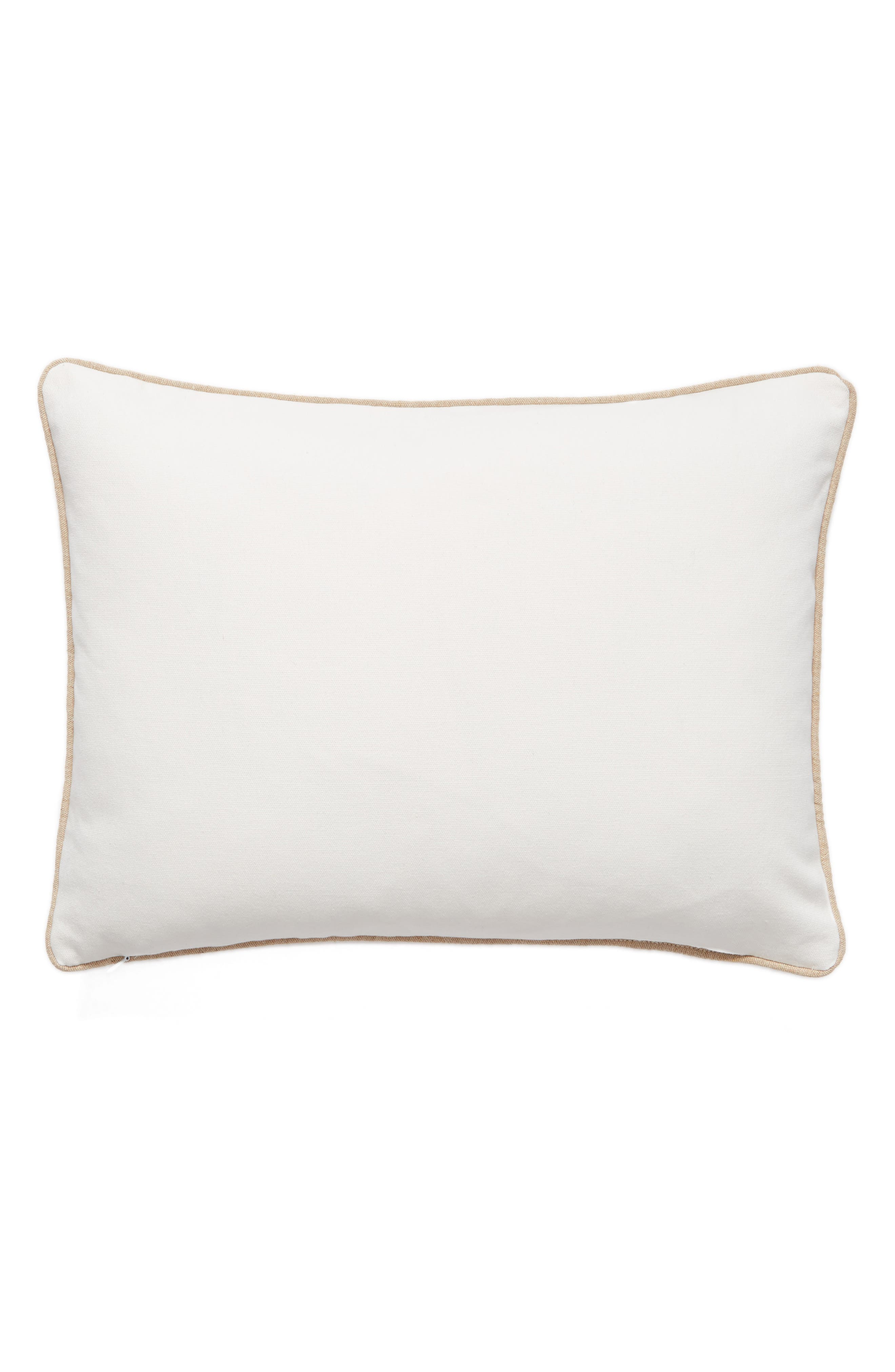 Flawless Accent Pillow,                             Alternate thumbnail 2, color,                             White