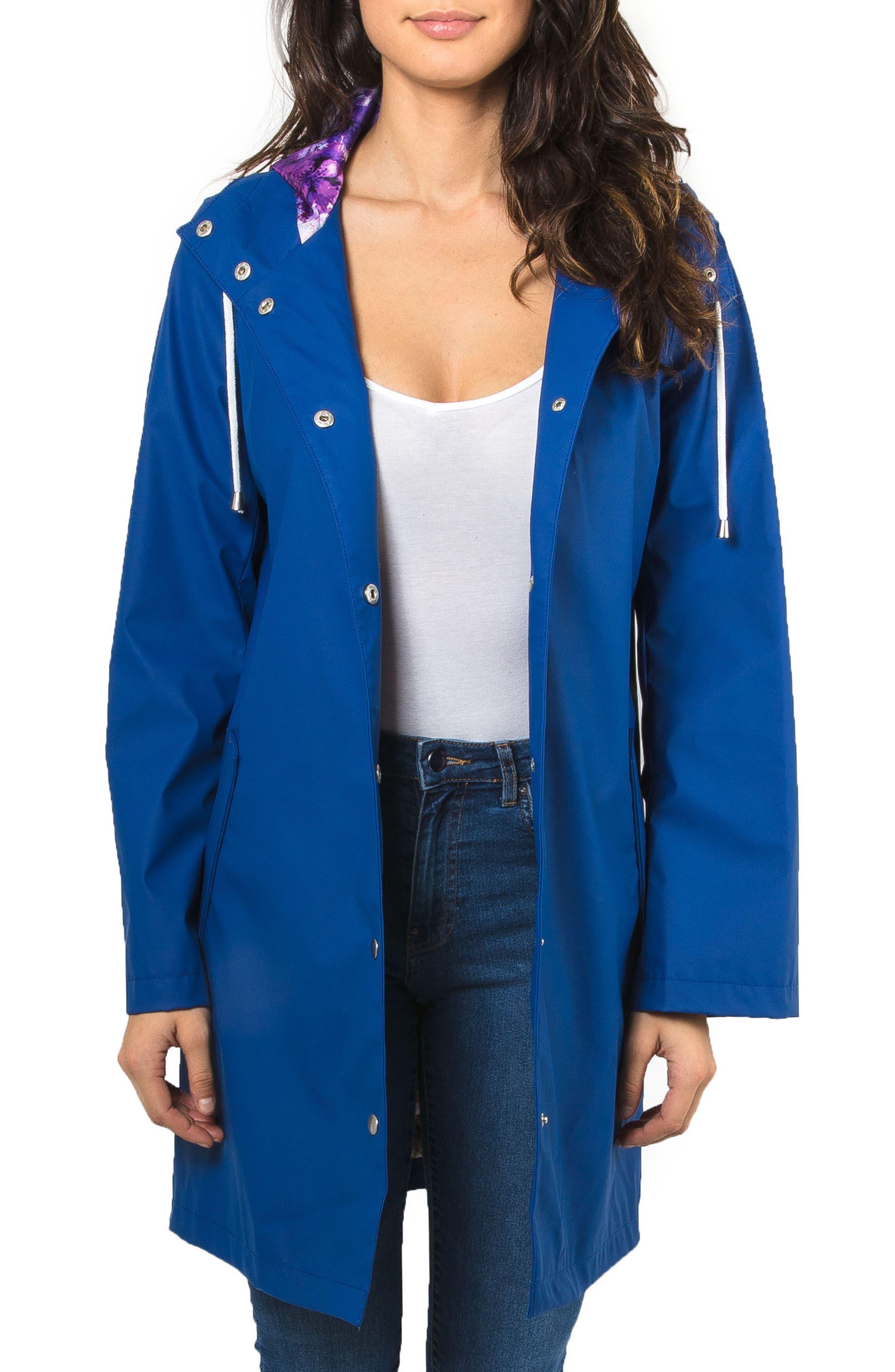 Badgley Mischka Coated Raincoat