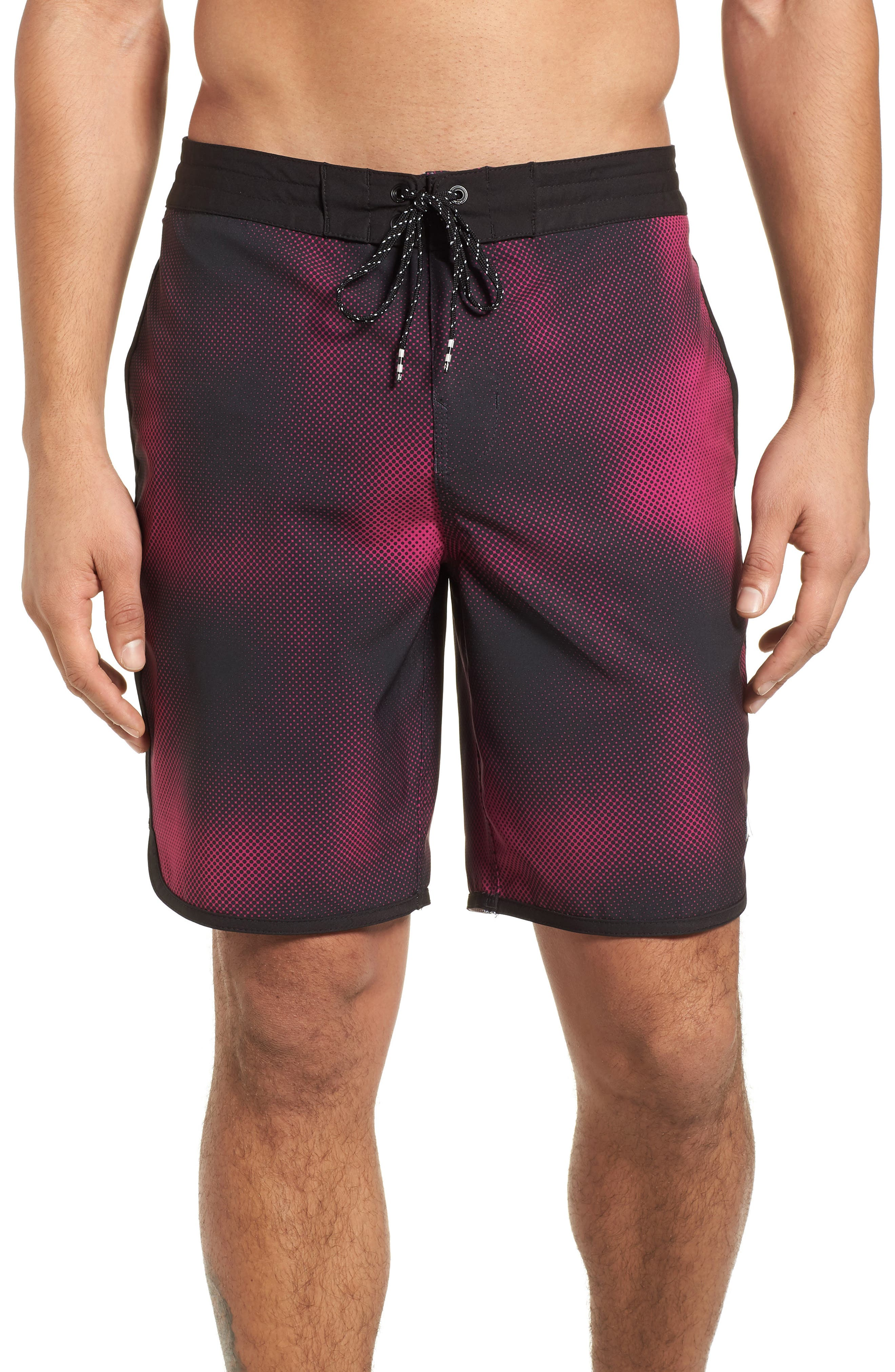 73 Lo Tides Lineup Board Shorts,                         Main,                         color, Stealth