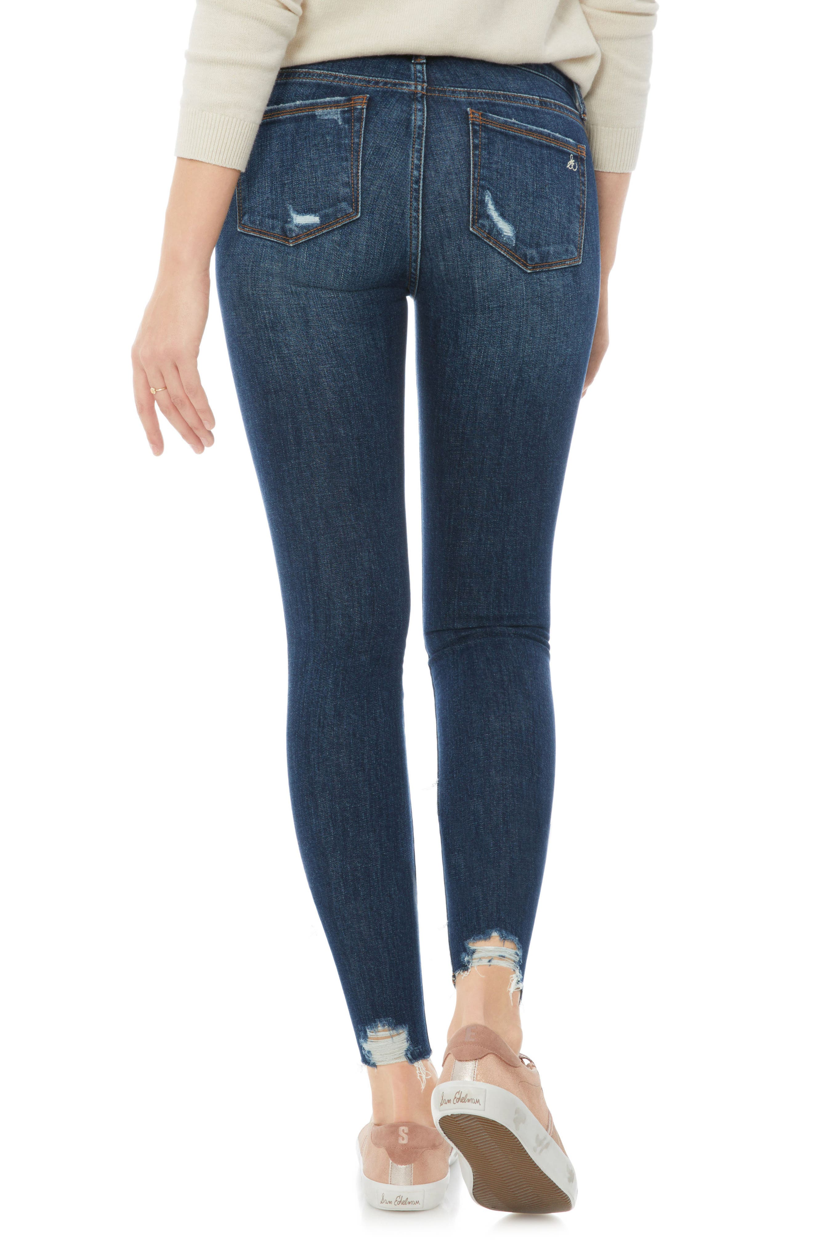 Alternate Image 2  - Sam Edelman The Kitten Ripped Jeans (Margaux)