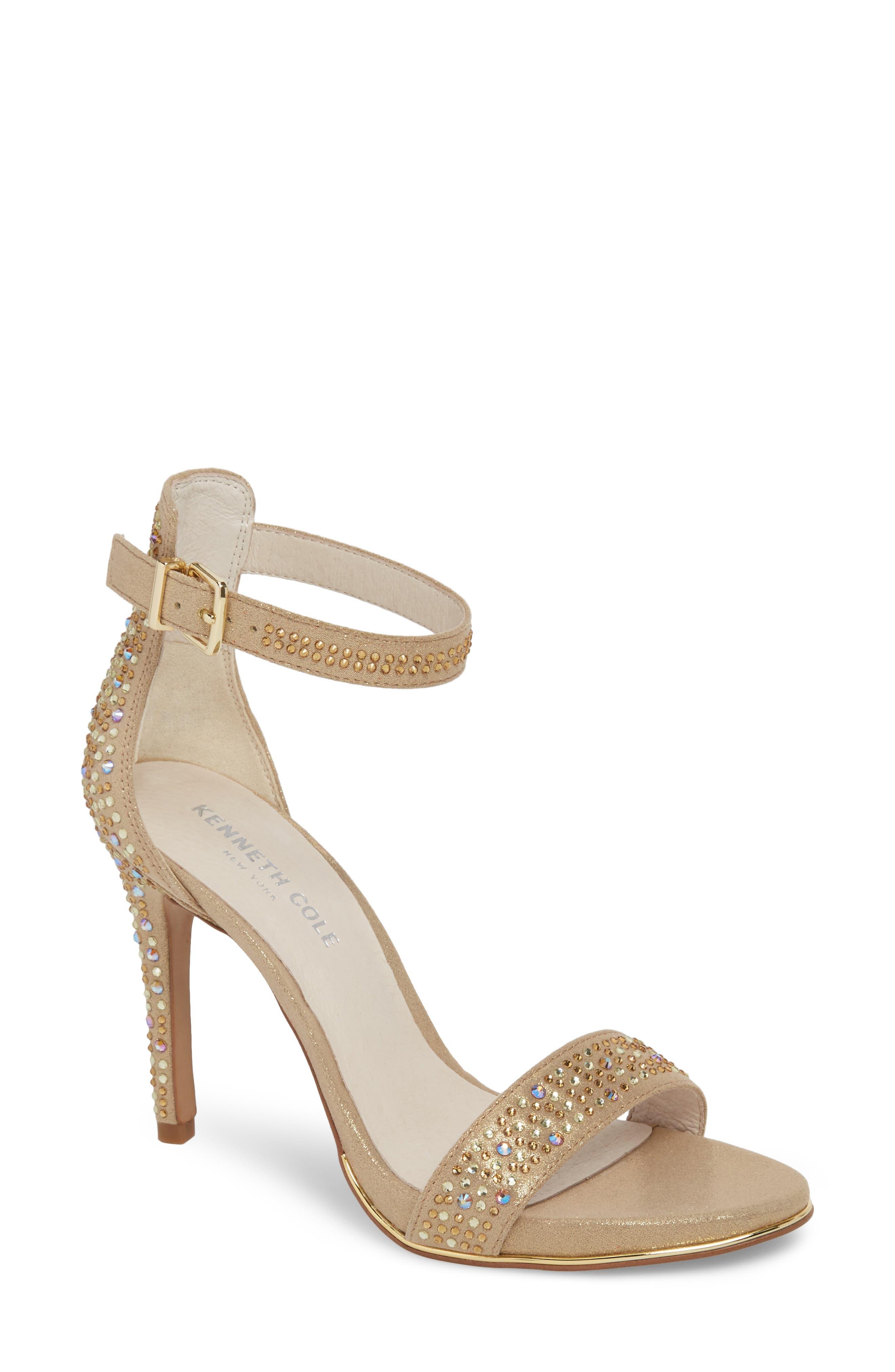 Kenneth Cole New York 'Brooke' Ankle Strap Sandal (Women)