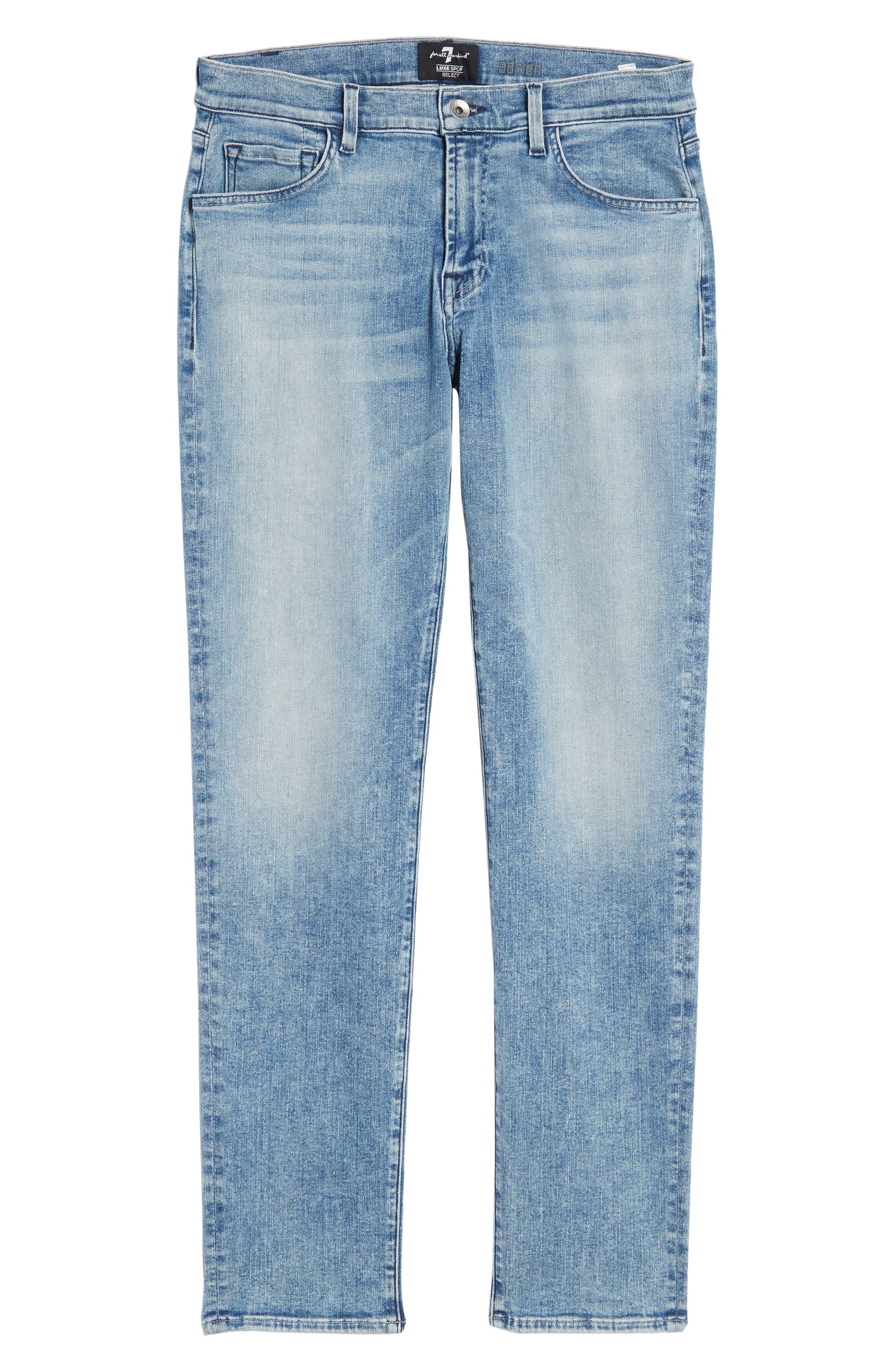 Adrien Slim Fit Jeans,                             Alternate thumbnail 6, color,                             Death Valley