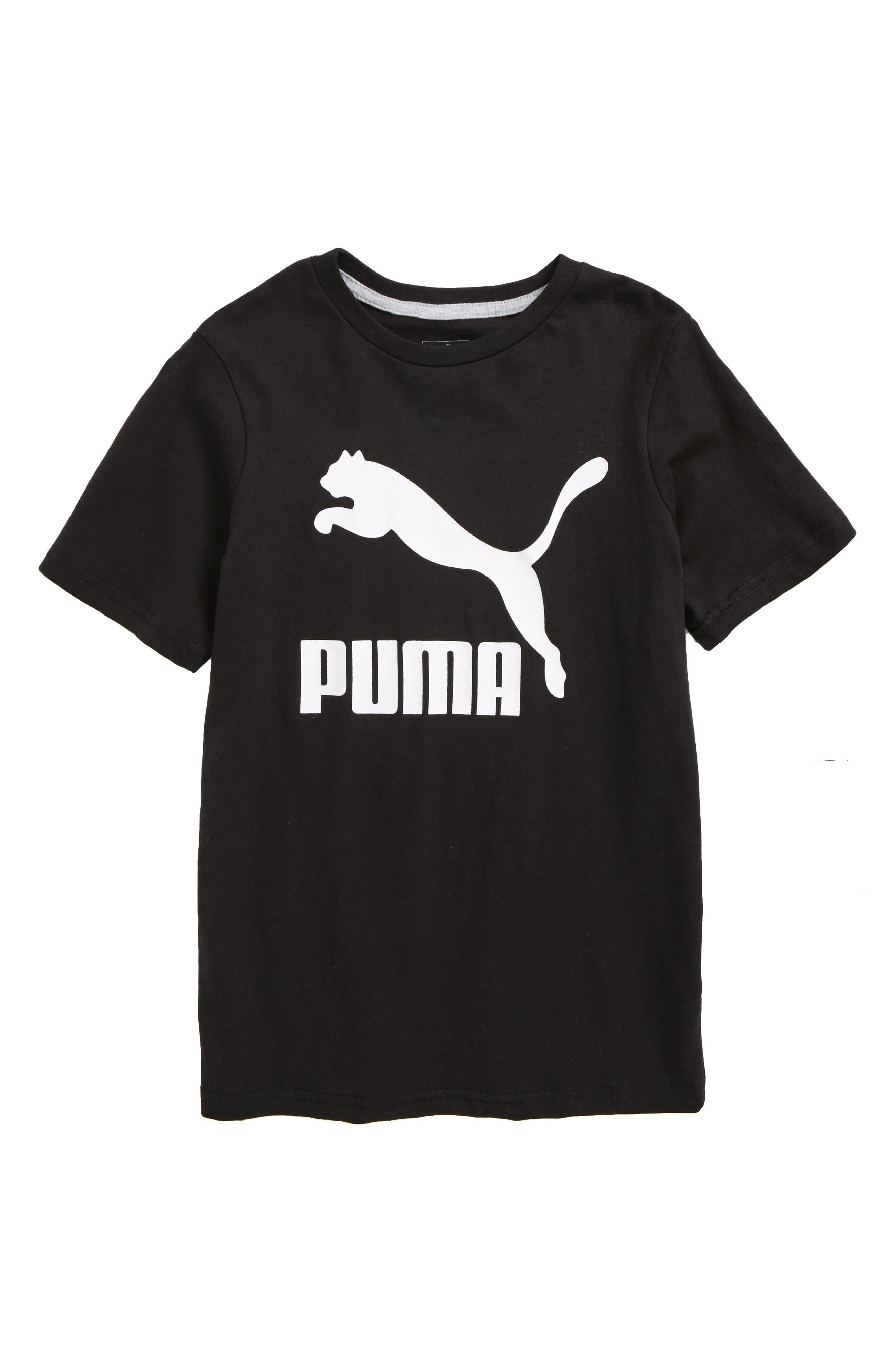 PUMA Archive Logo Graphic T-Shirt (Big Boys)