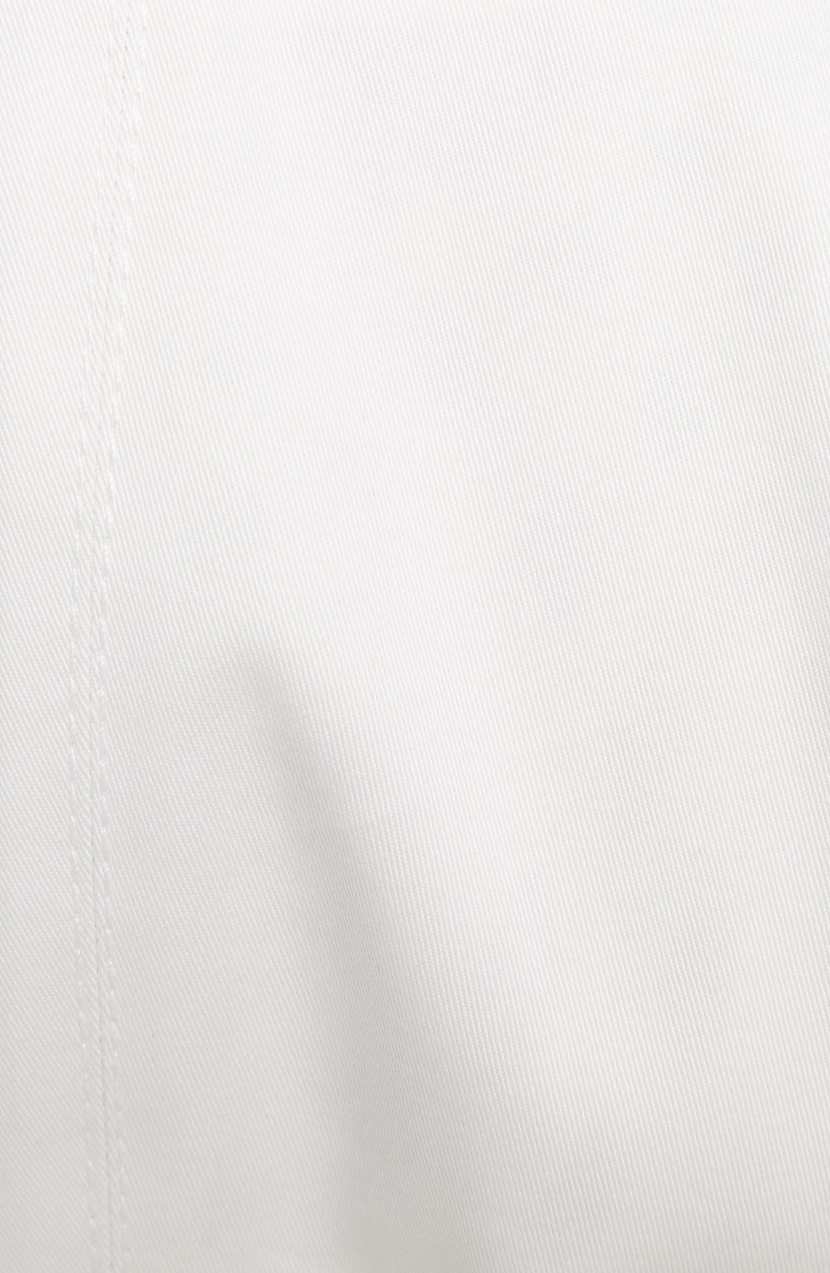 Olesia Removable Sleeve Belted Coat,                             Alternate thumbnail 5, color,                             Dirty White