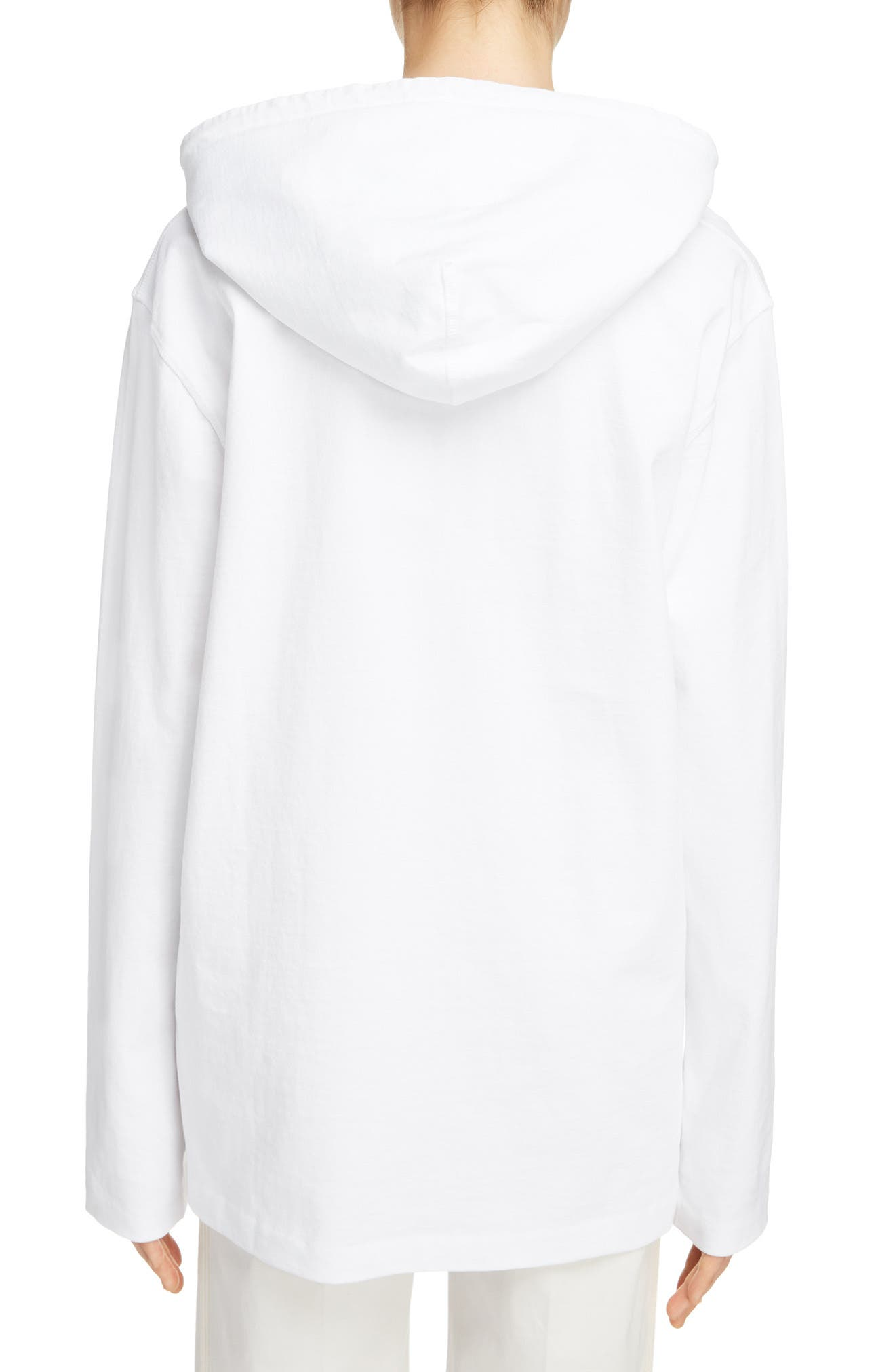 Lilly Drawstring Hoodie,                             Alternate thumbnail 2, color,                             Optic White