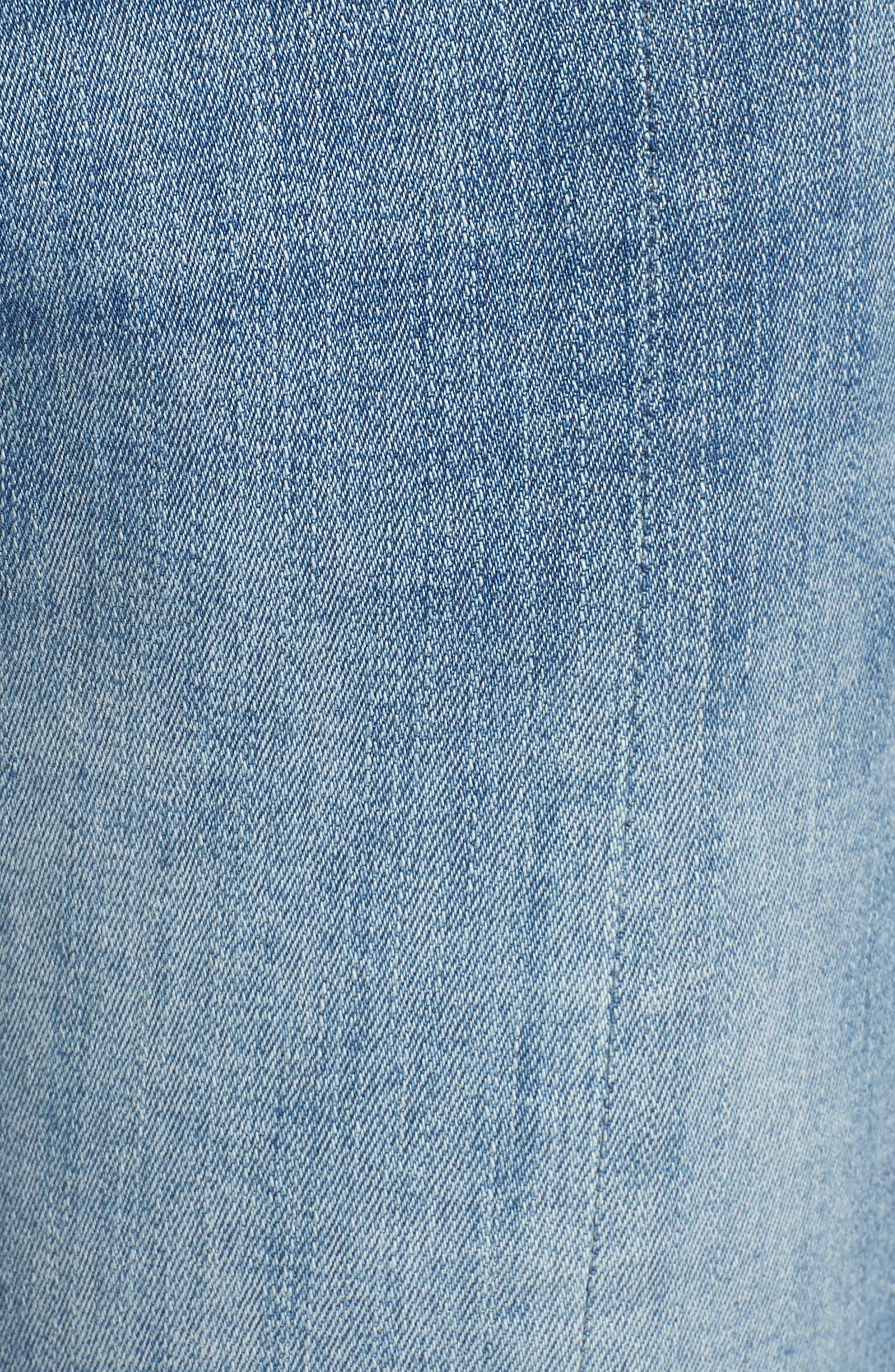 Florence Instasculpt Crop Skinny Jeans,                             Alternate thumbnail 6, color,                             New Town