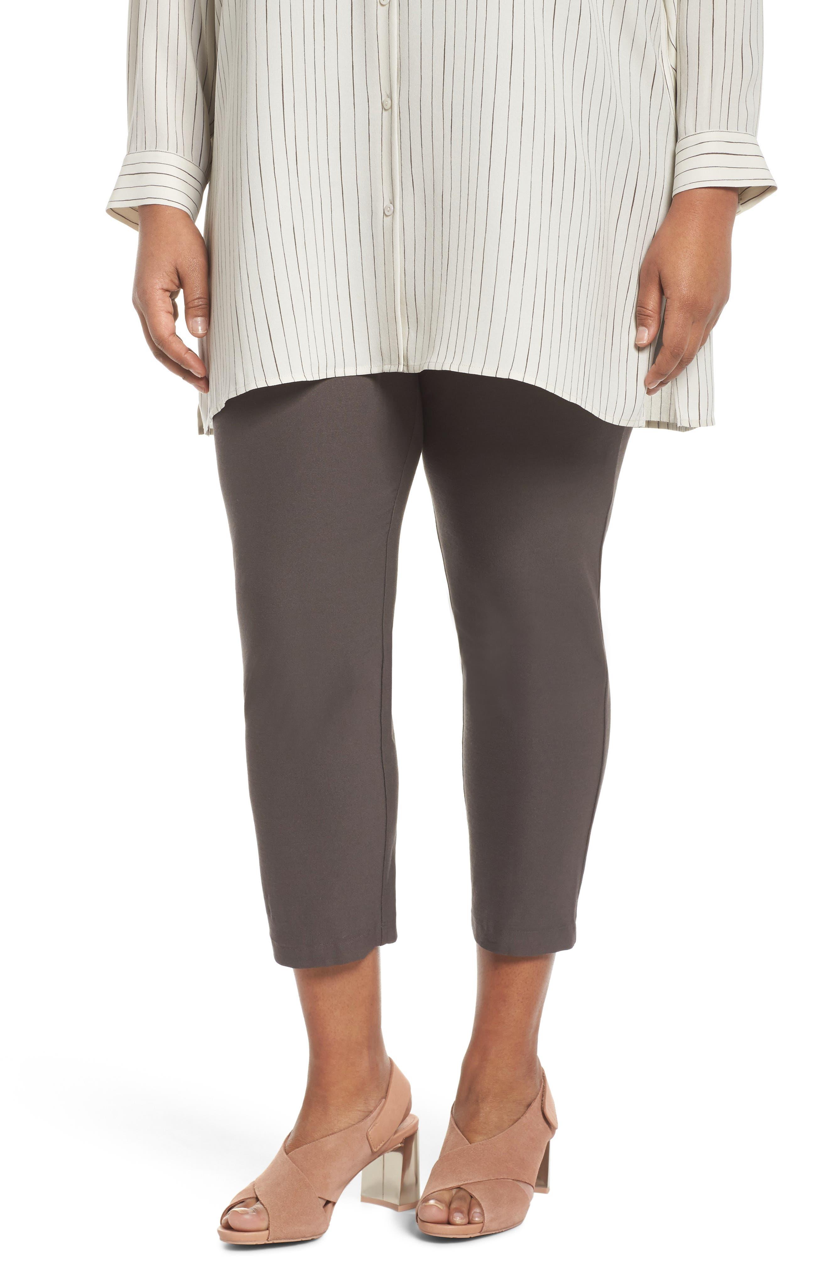 Slim Ankle Pants,                         Main,                         color, Rye