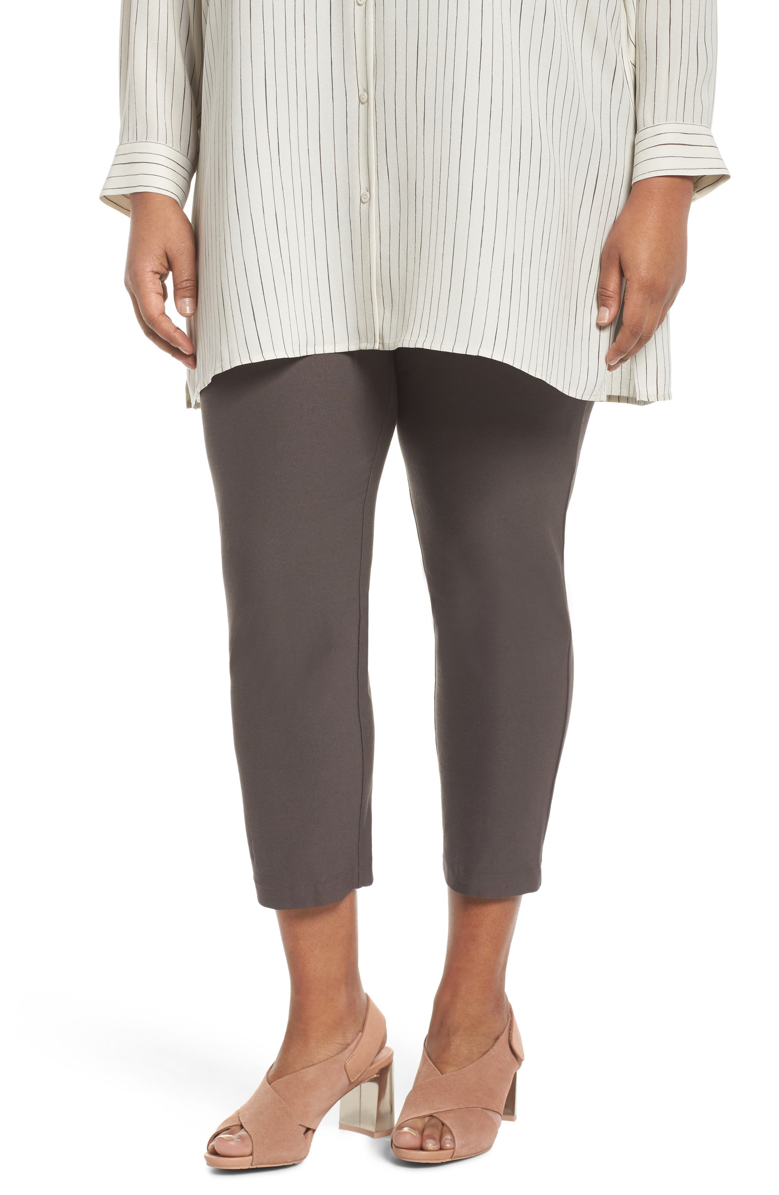 Slim Ankle Pants,                         Main,                         color, Rye