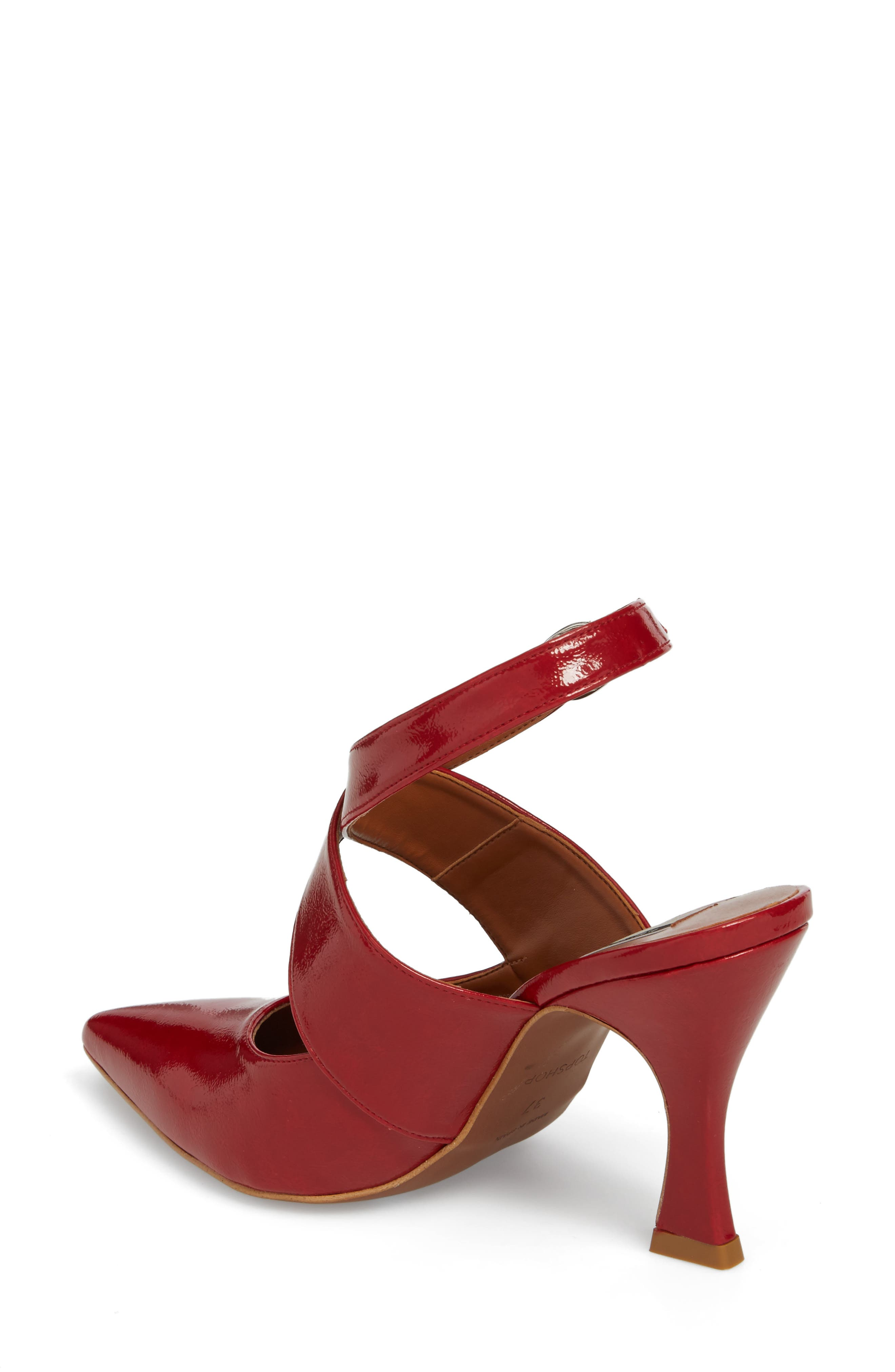 Galactic Pointy Toe Pump,                             Alternate thumbnail 2, color,                             Red