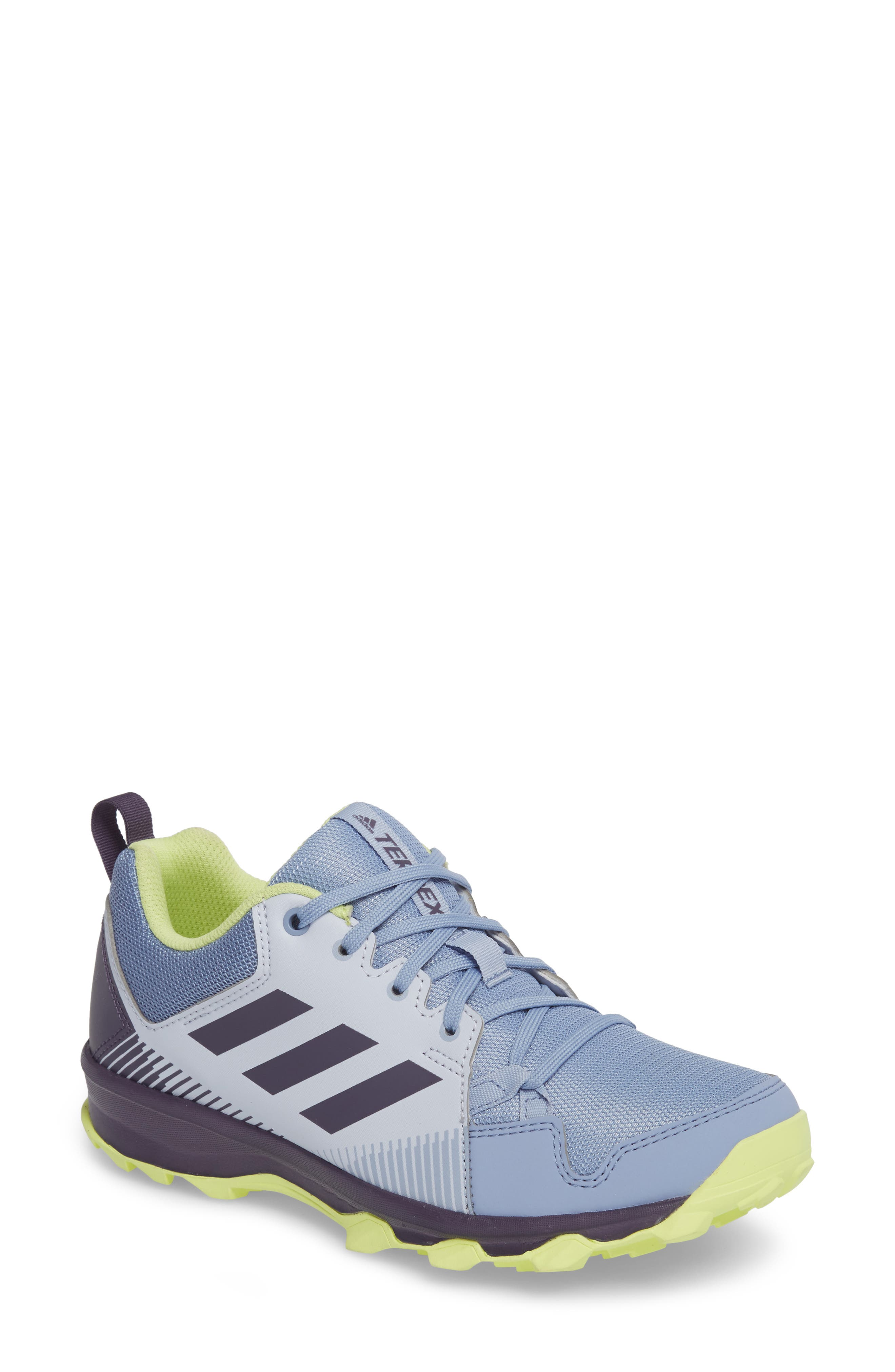'Tracerocker' Athletic Shoe,                             Main thumbnail 1, color,                             Aero Blue/ Purple/ Yellow