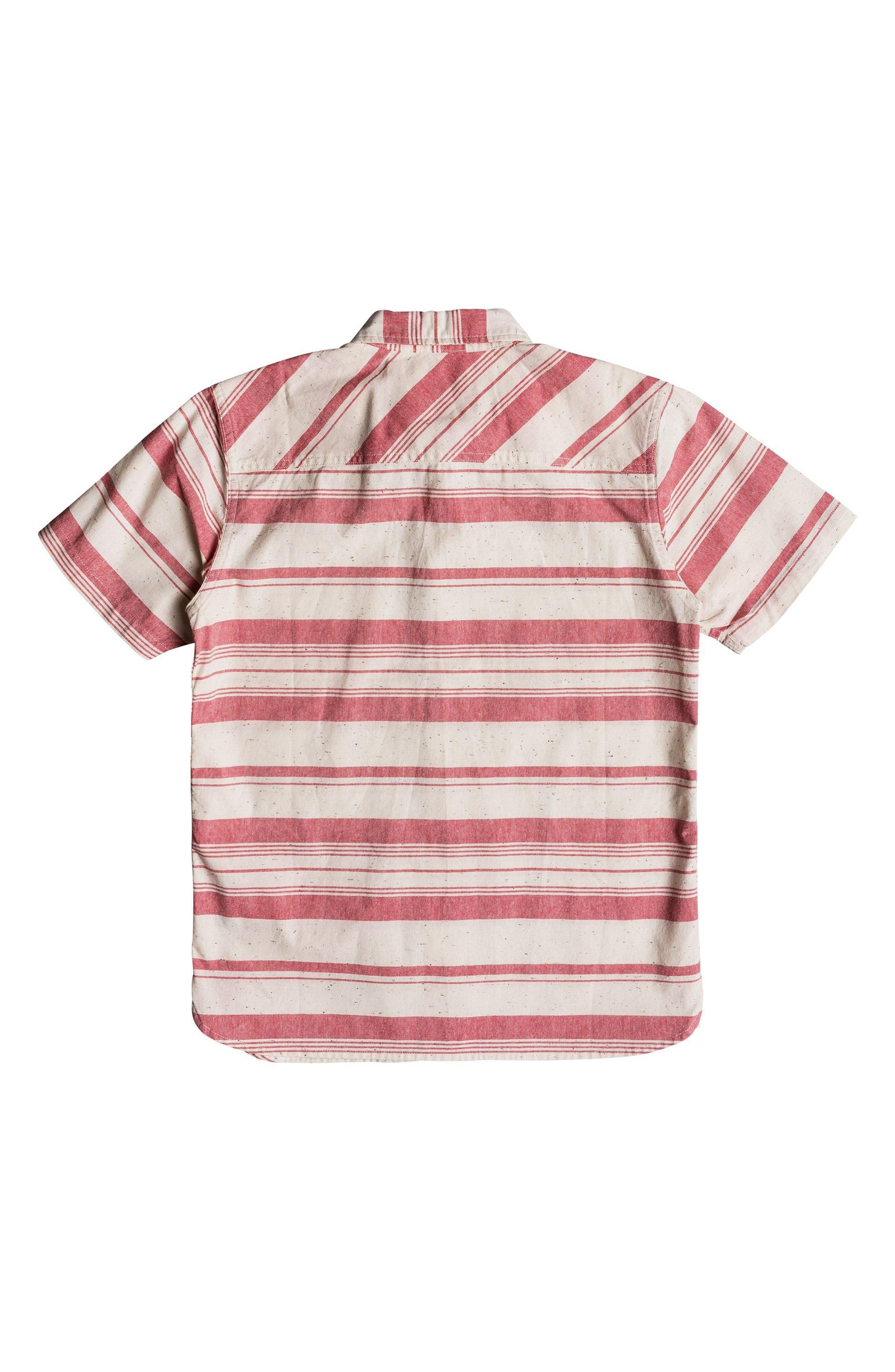 Good Wall Woven Shirt,                             Alternate thumbnail 2, color,                             Mineral Red