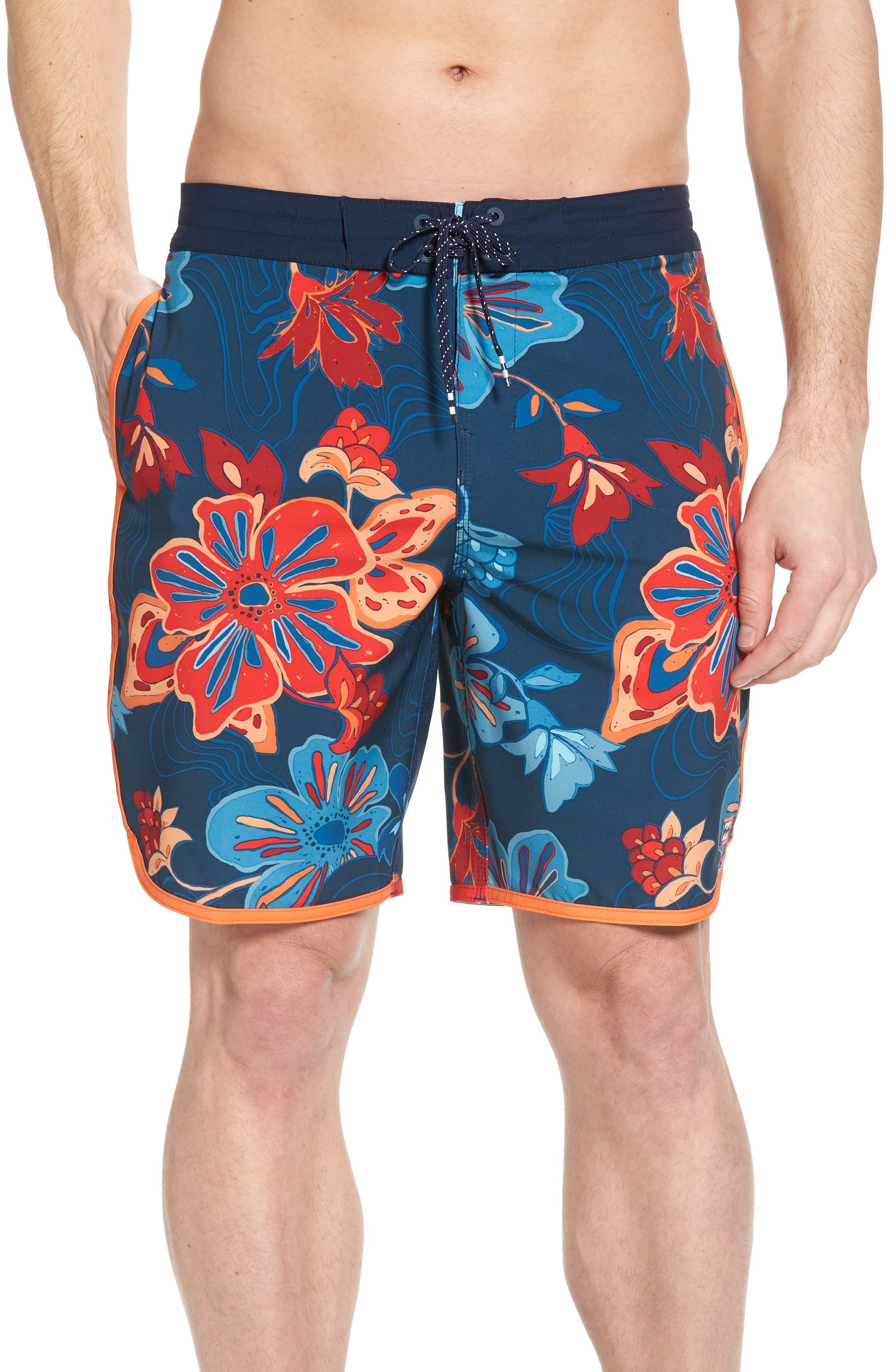 73 Lo Tides Lineup Board Shorts,                         Main,                         color, Navy