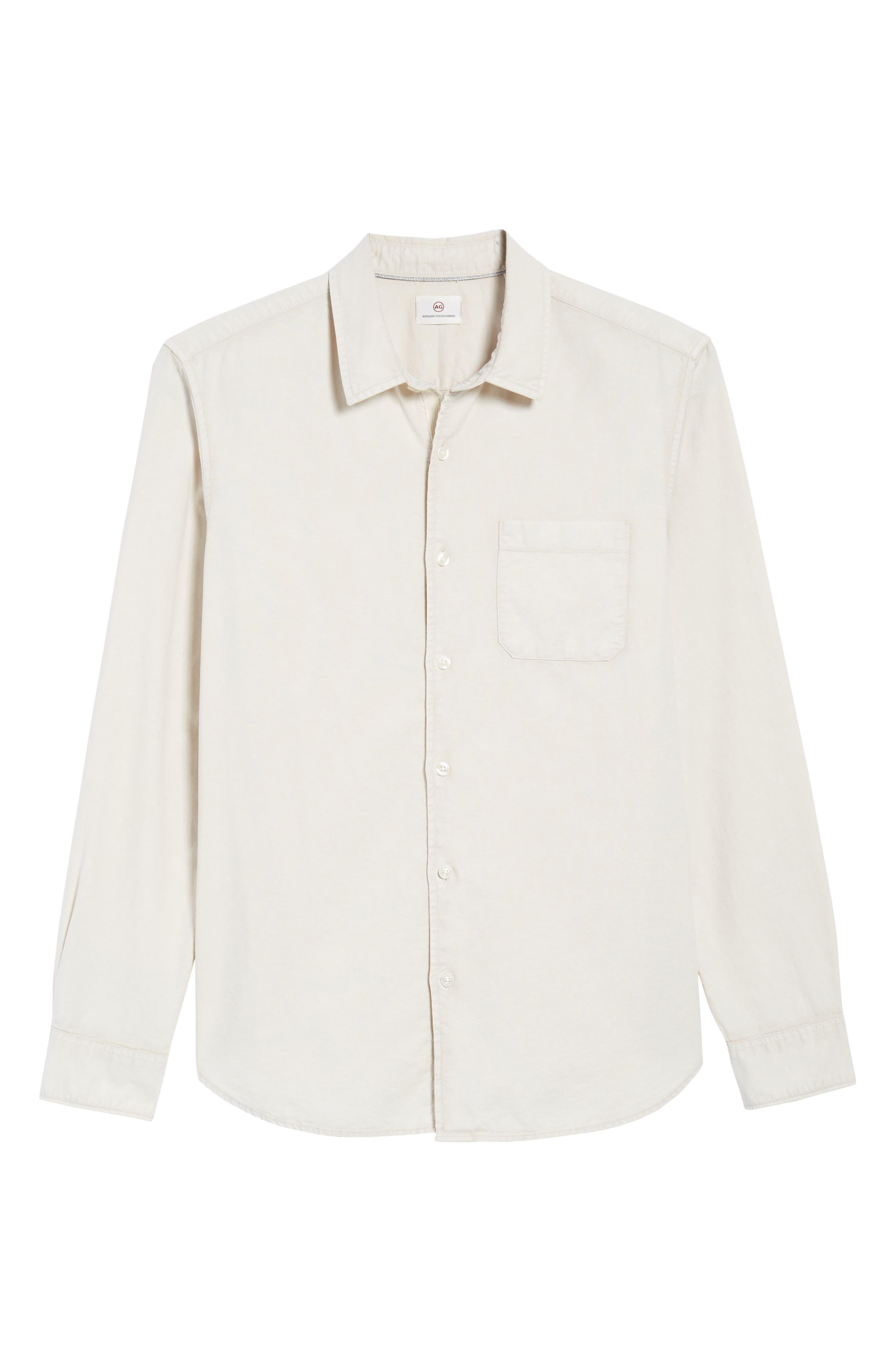 Bristol Slim Fit Sport Shirt,                             Alternate thumbnail 6, color,                             Sunbaked Mineral Veil
