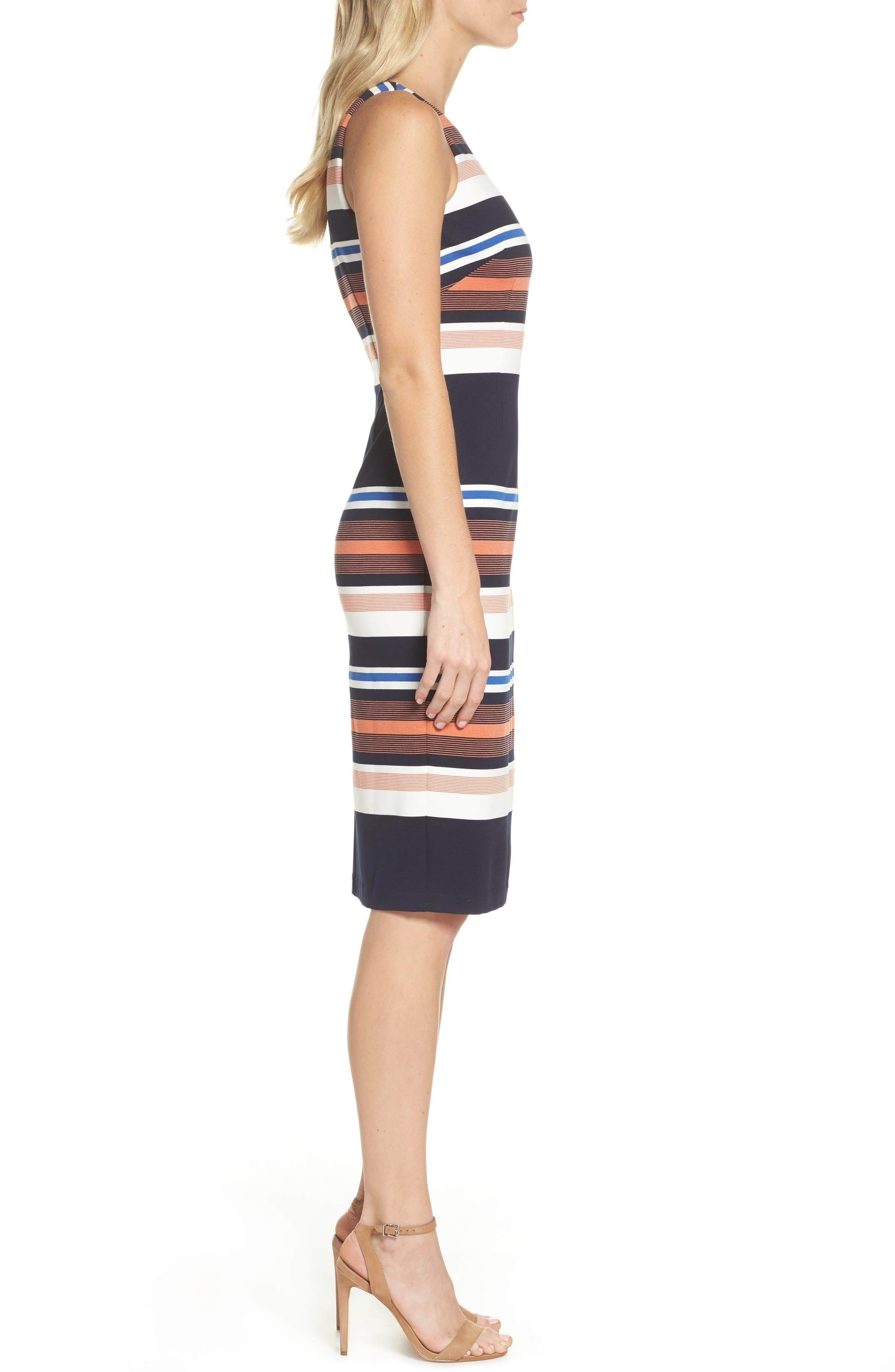 Alternate Image 3  - Adrianna Papell Stripe Body-Con Dress