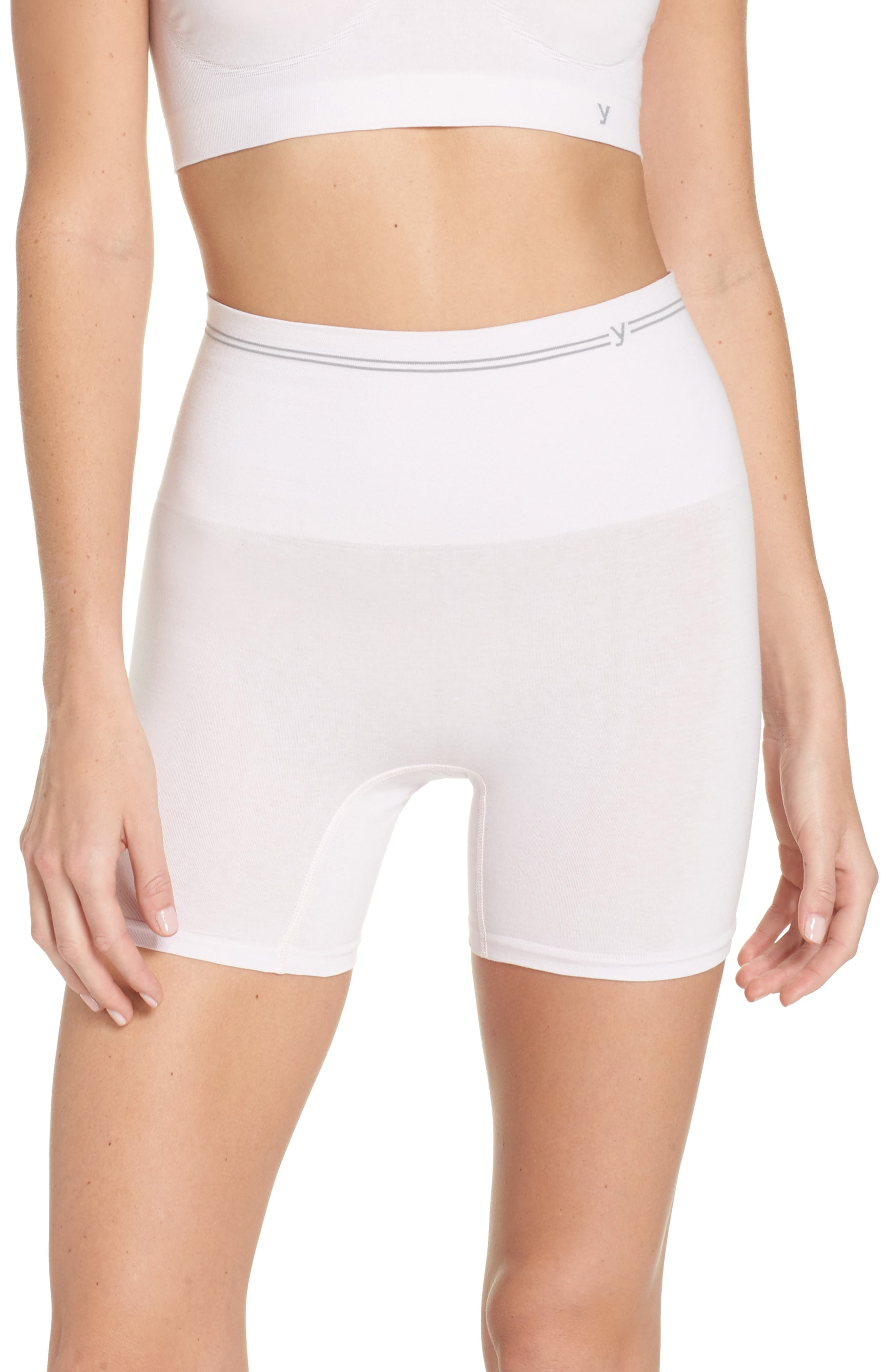 Seamless Shaping Shorts,                             Main thumbnail 1, color,                             Orchid Ice