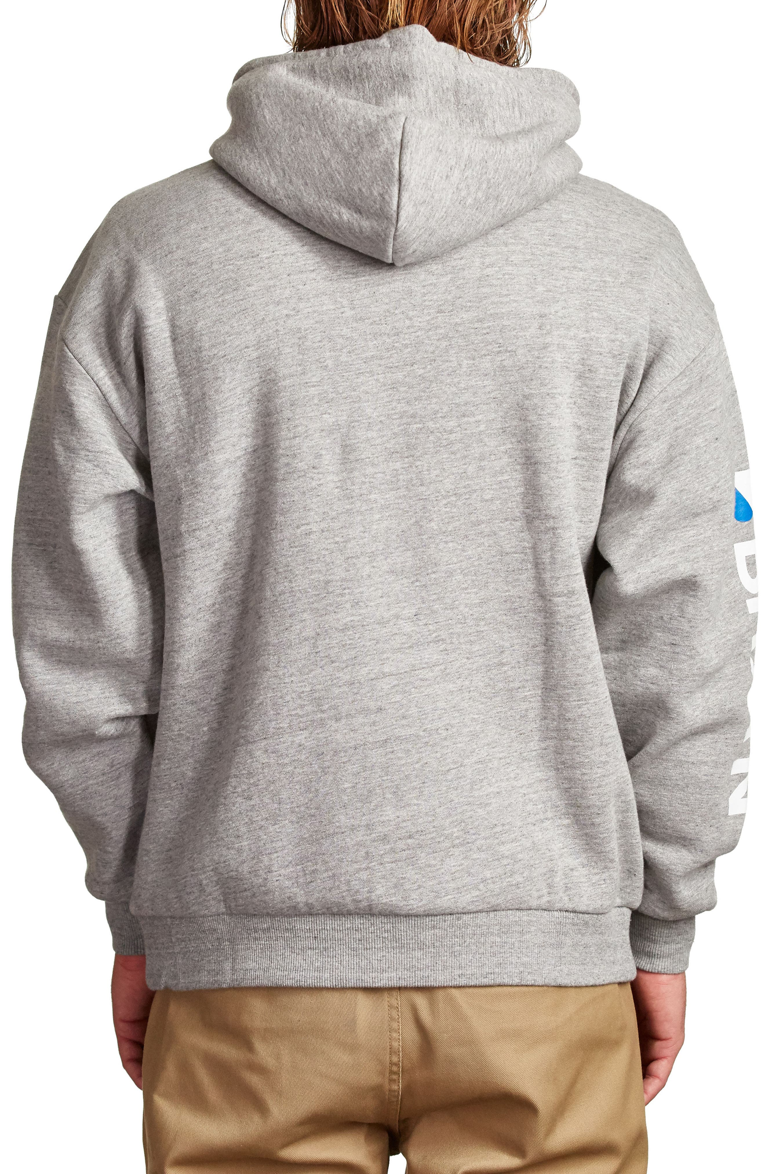 Stowell Hoodie Sweatshirt,                             Alternate thumbnail 2, color,                             Heather Grey