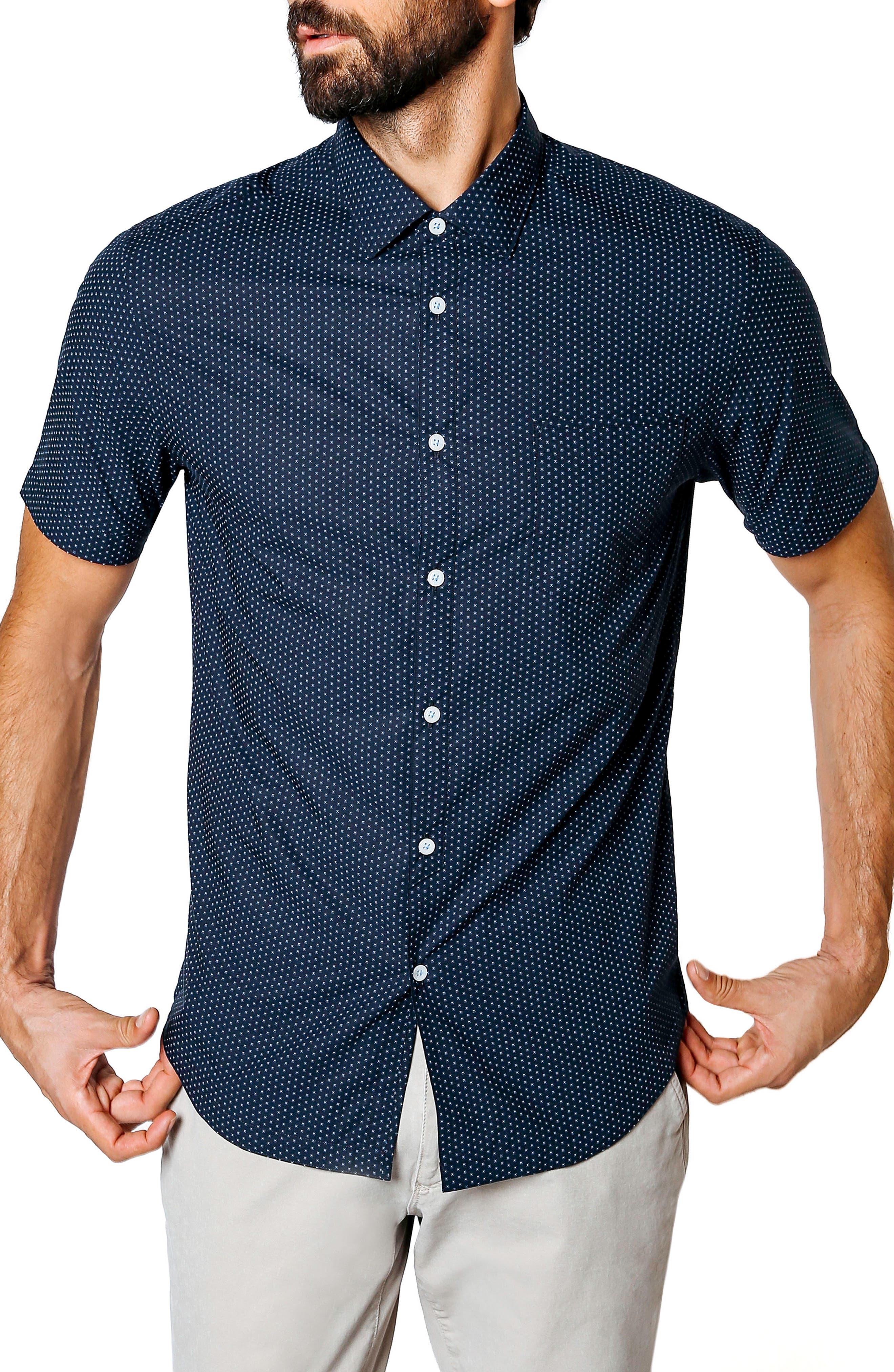 Good Man Brand Hex Dot Sport Shirt