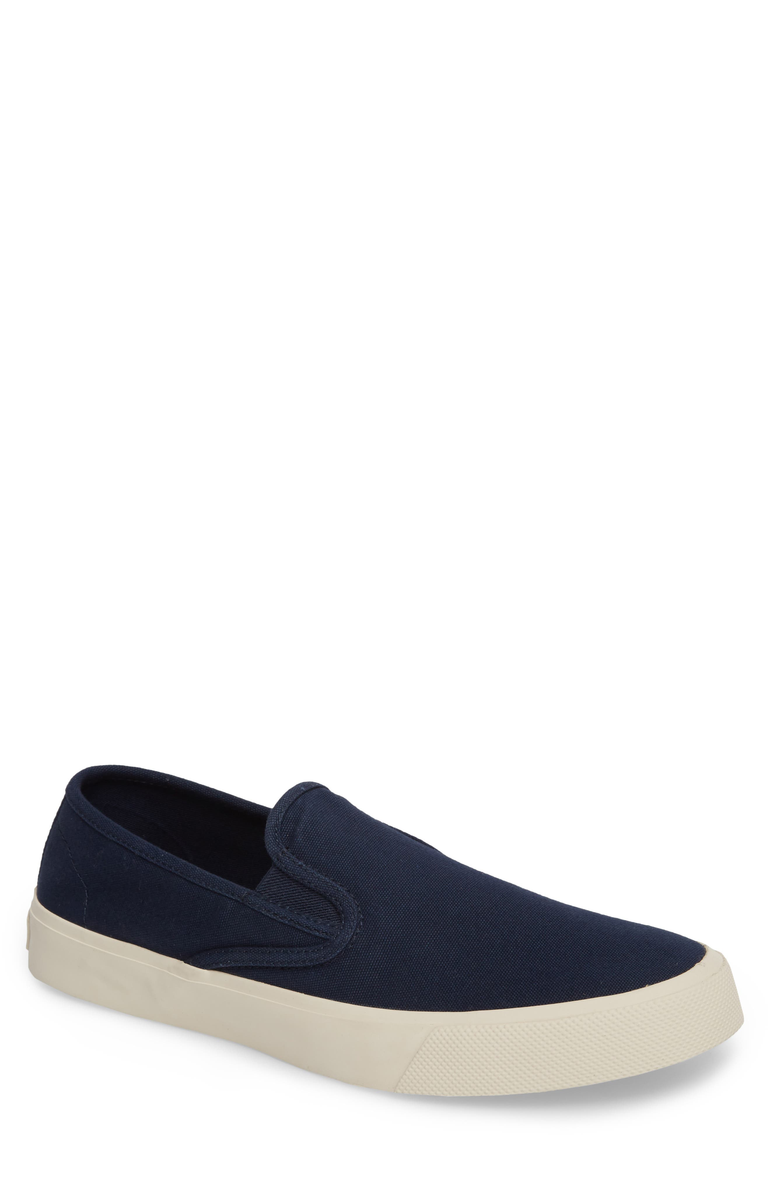 Striper II Slip-On Sneaker,                         Main,                         color, Navy