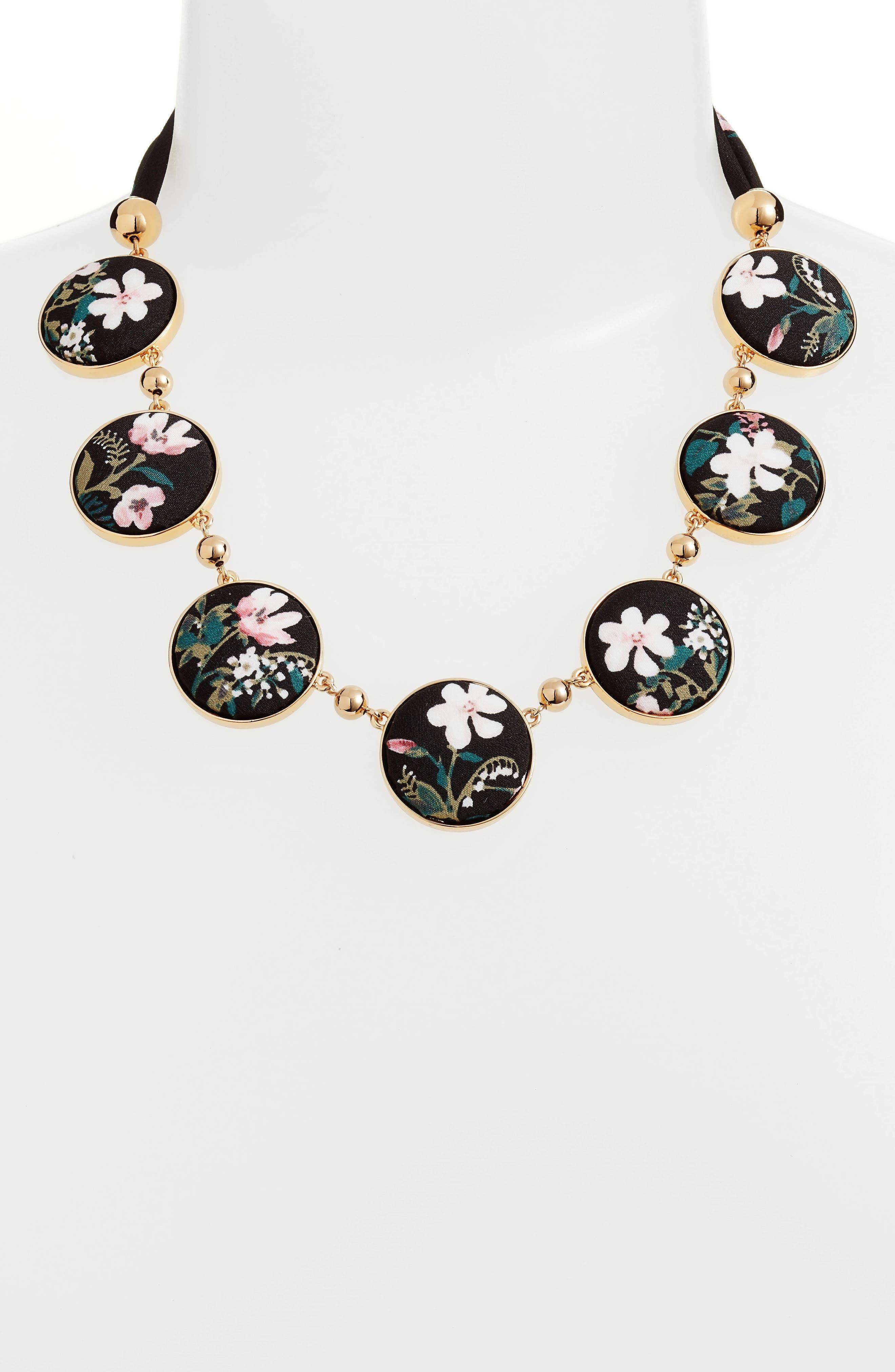 set sail necklace,                             Alternate thumbnail 2, color,                             Black