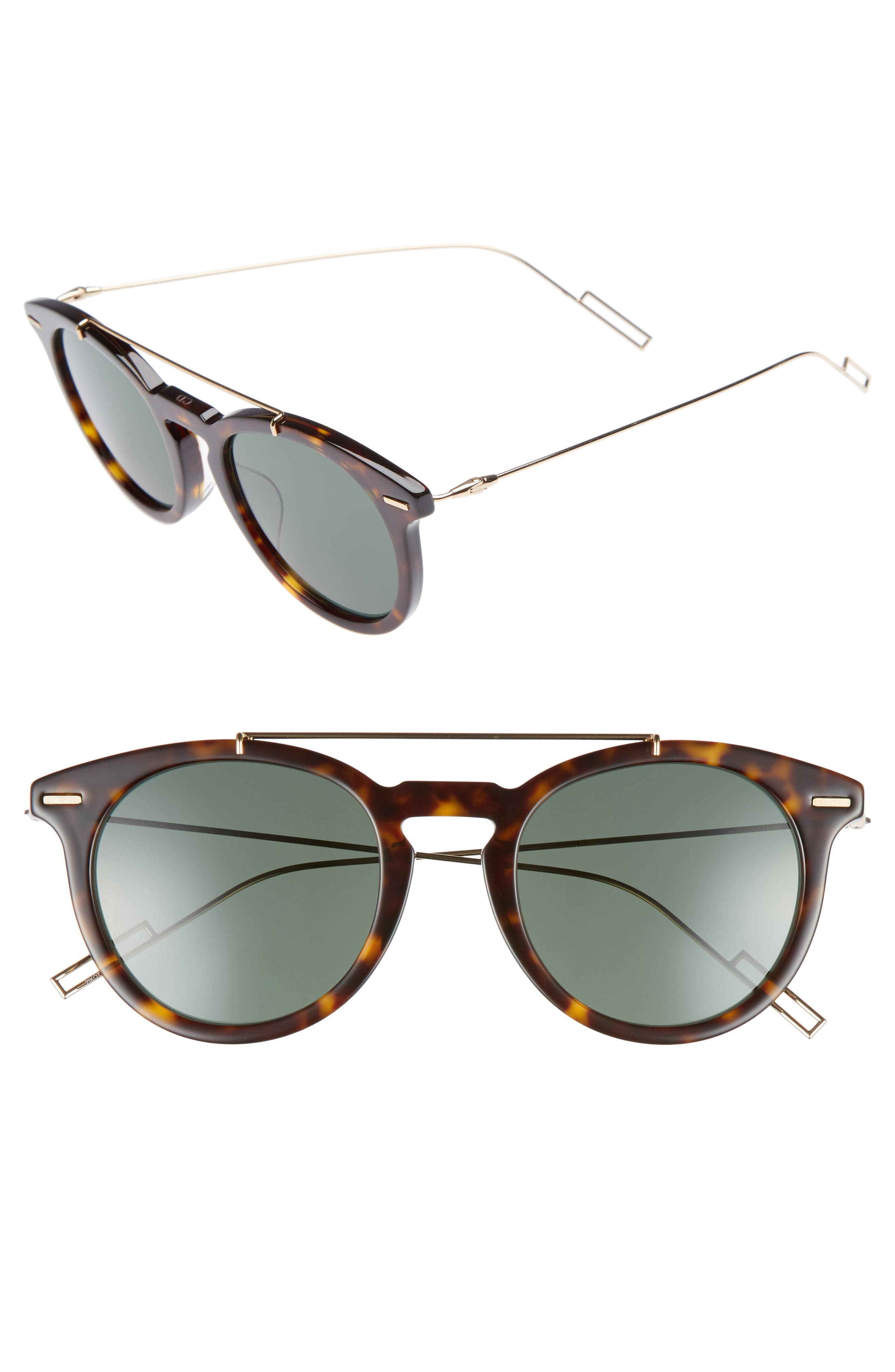 Master 51mm Sunglasses,                         Main,                         color, Havana Gold