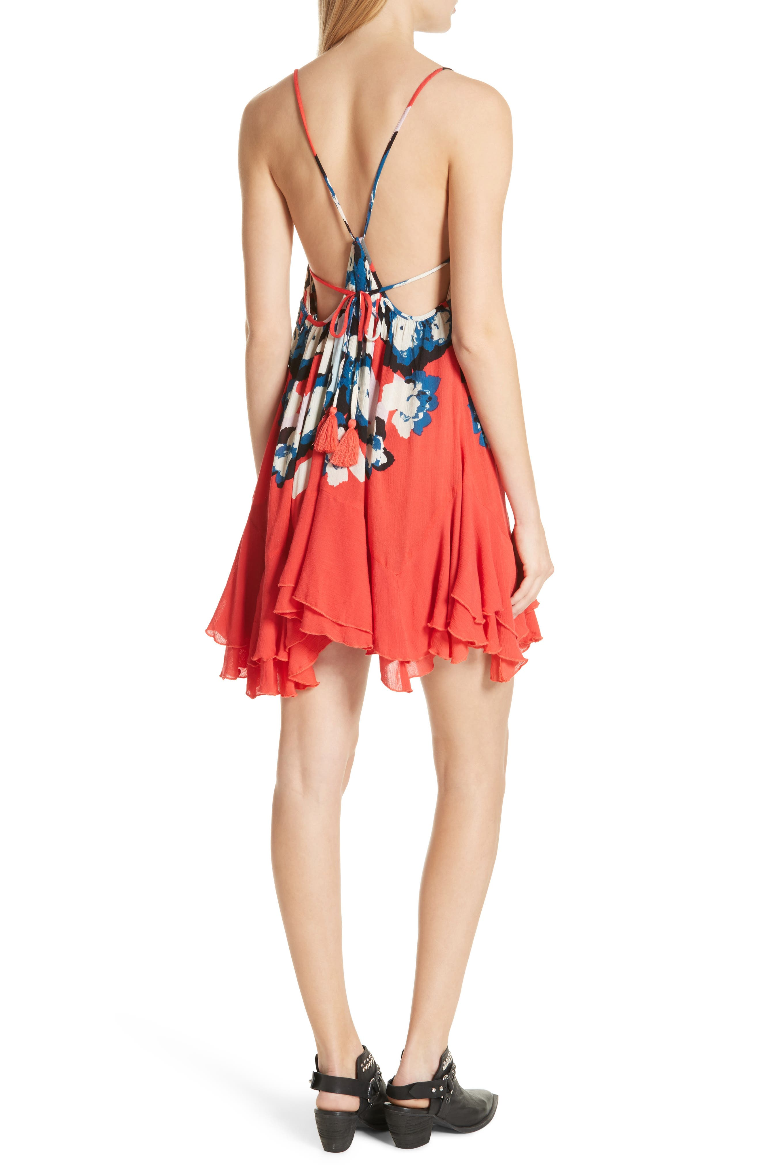 Sweet Lucy Slipdress,                             Alternate thumbnail 2, color,                             Red