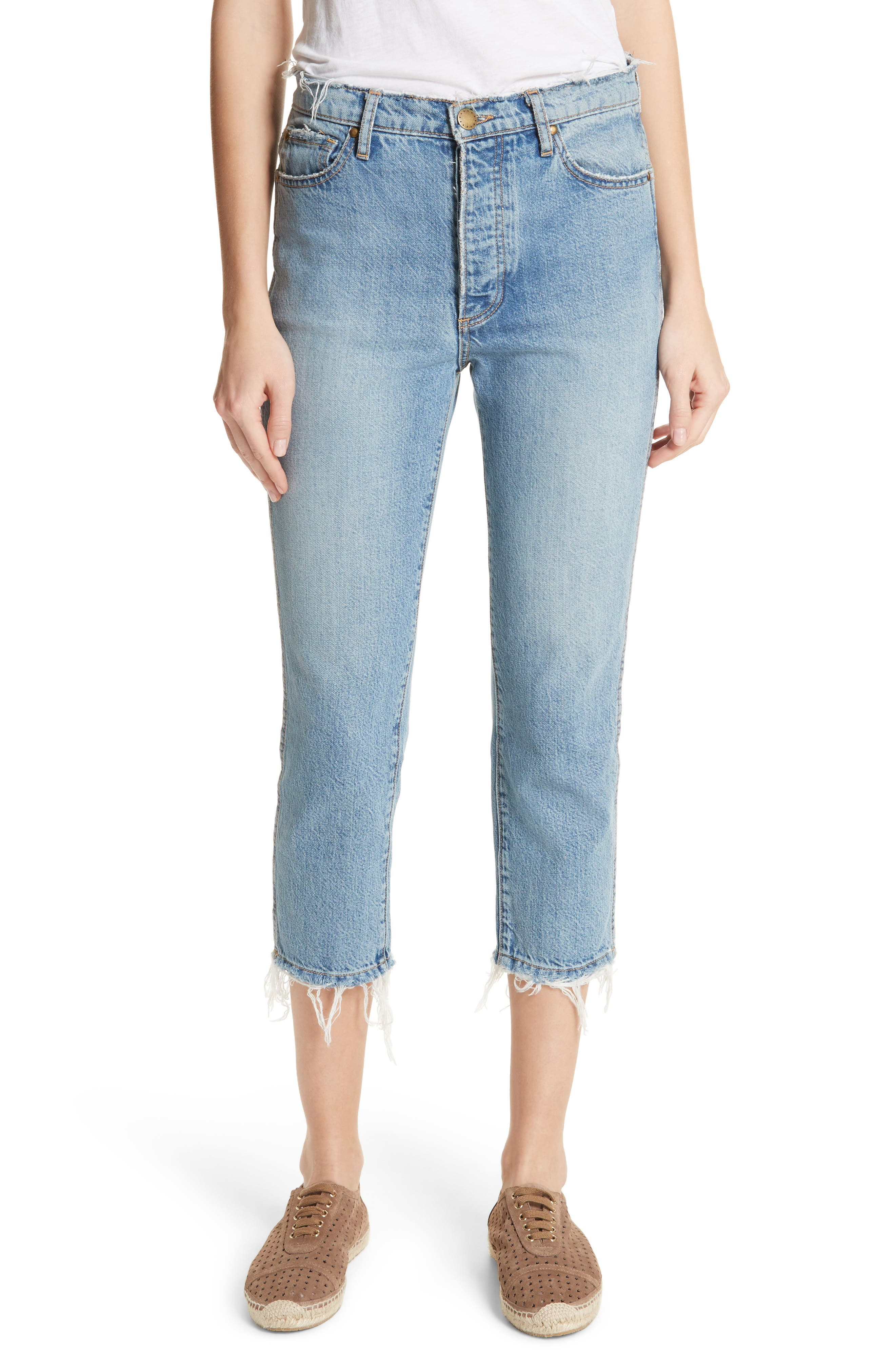 THE GREAT. The Rigid Fellow Jeans (Mill Wash)
