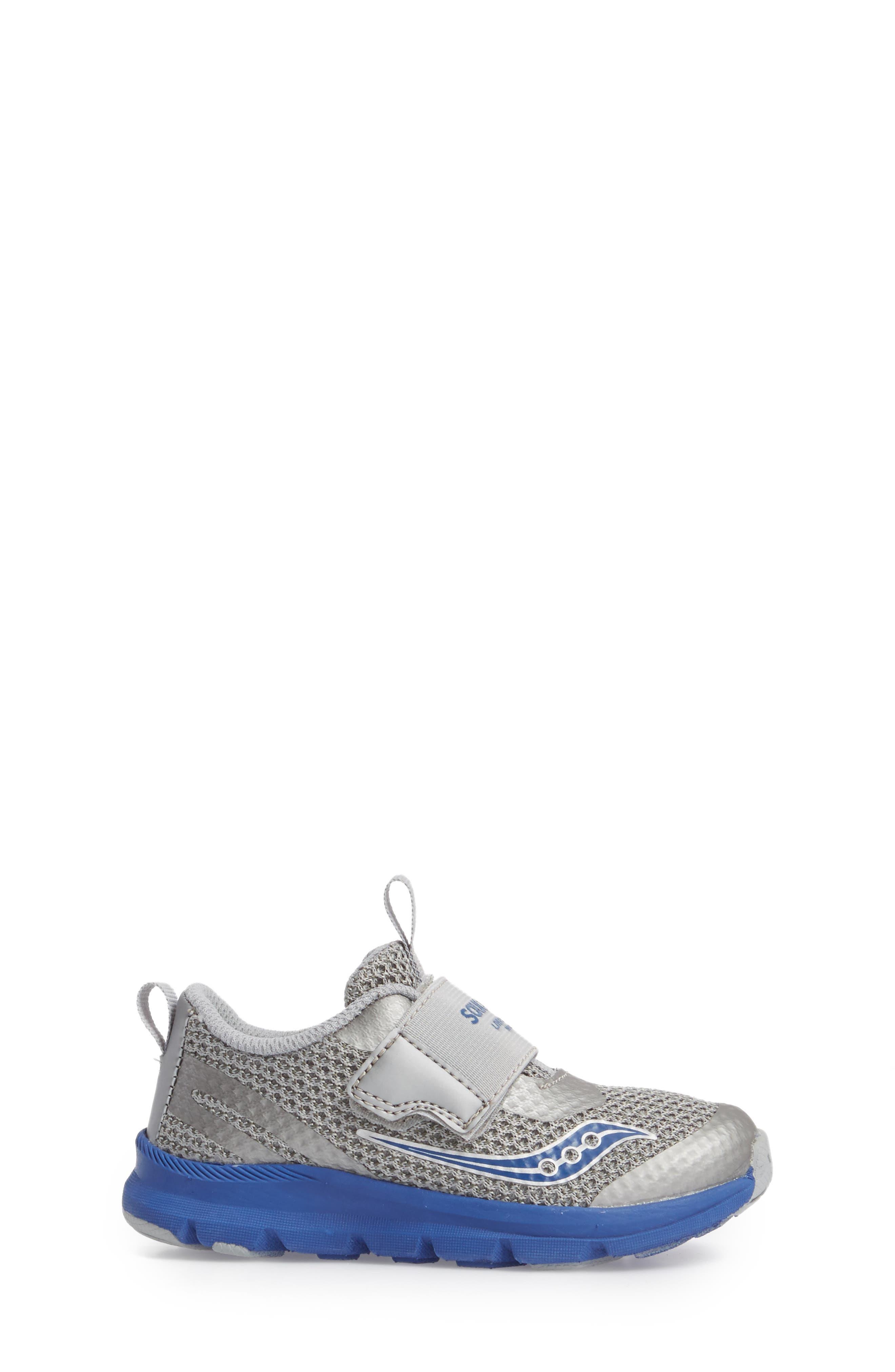 Baby Liteform Sneaker,                             Alternate thumbnail 3, color,                             Grey/ Blue