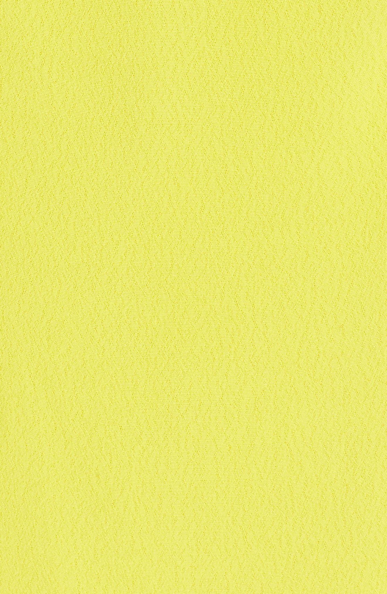Vera Double Strap Dress,                             Alternate thumbnail 5, color,                             Lemon