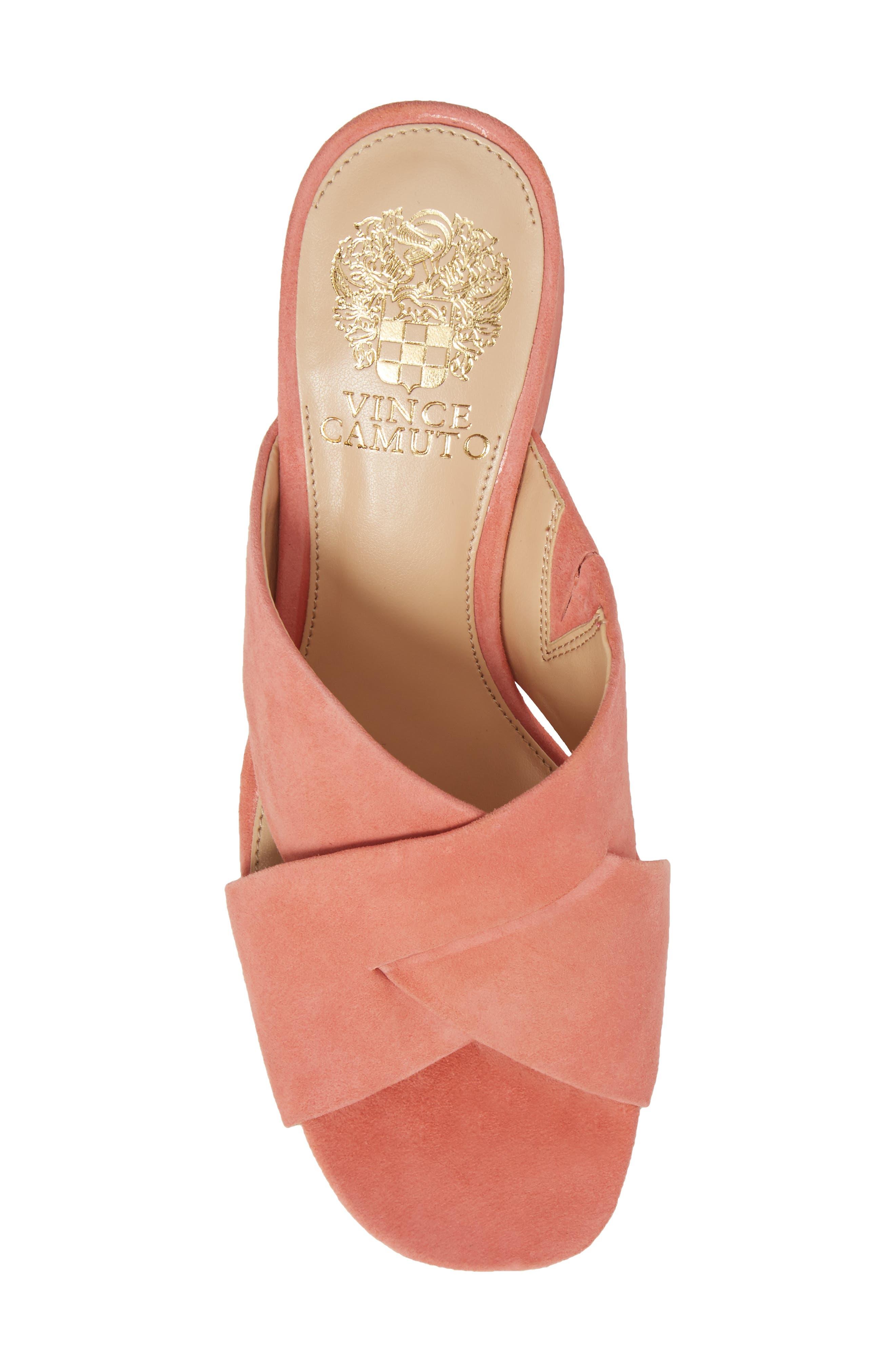 Stania Sandal,                             Alternate thumbnail 5, color,                             Fancy Flamingo Suede