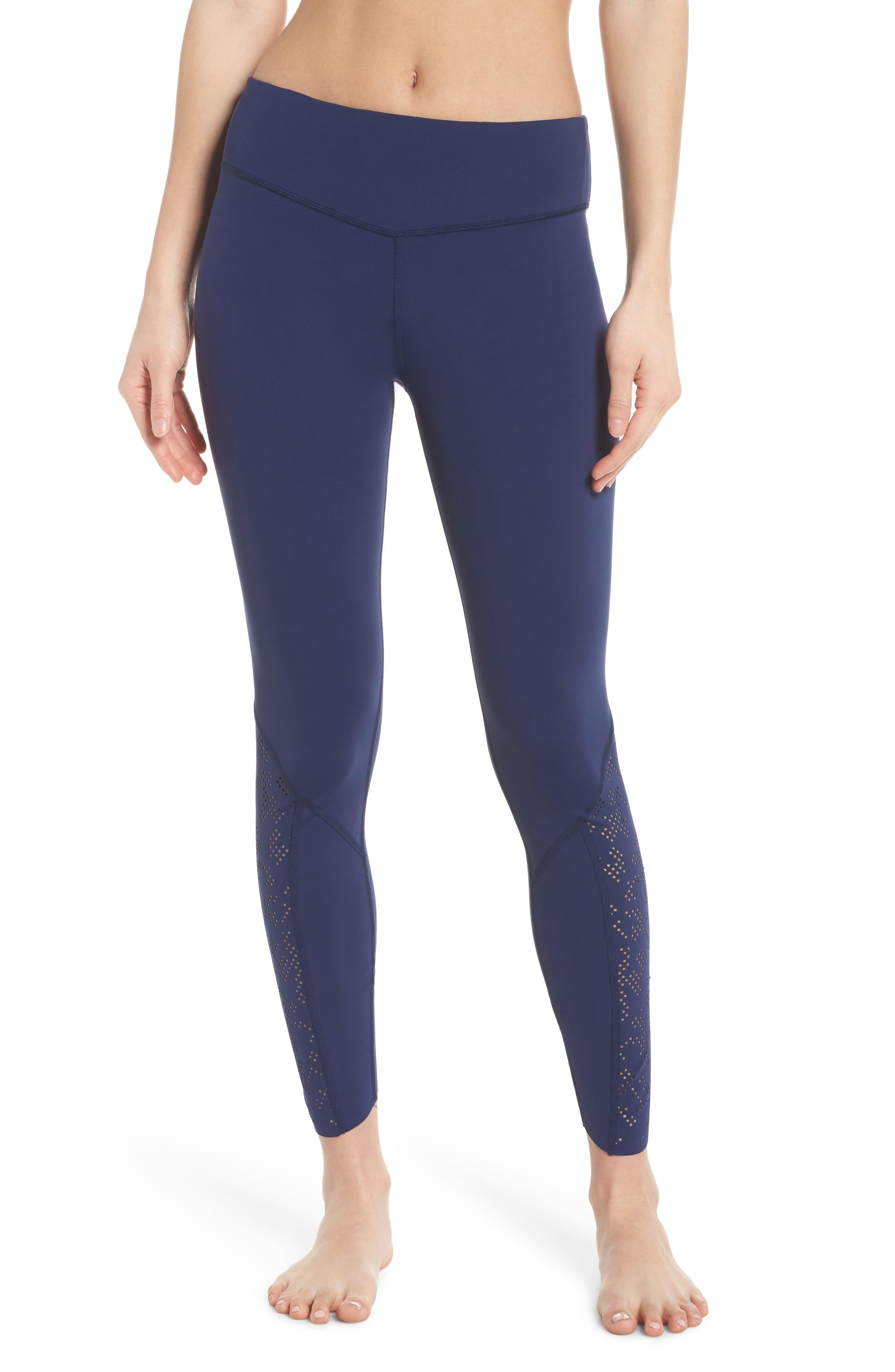 Doran 7/8 Tights,                         Main,                         color, Medieval Blue