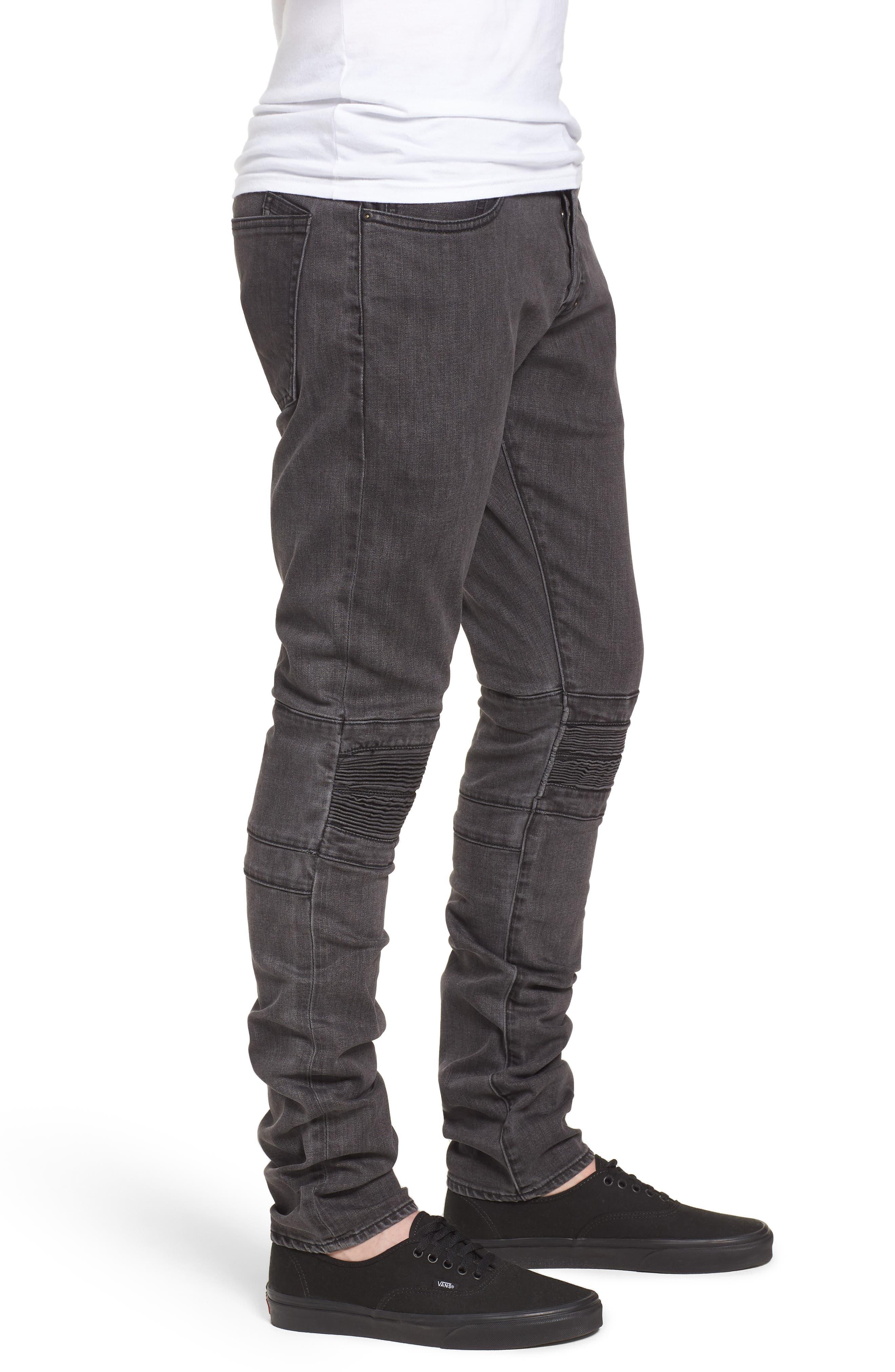 Le Sabre Slim Fit Jeans,                             Alternate thumbnail 3, color,                             Festival