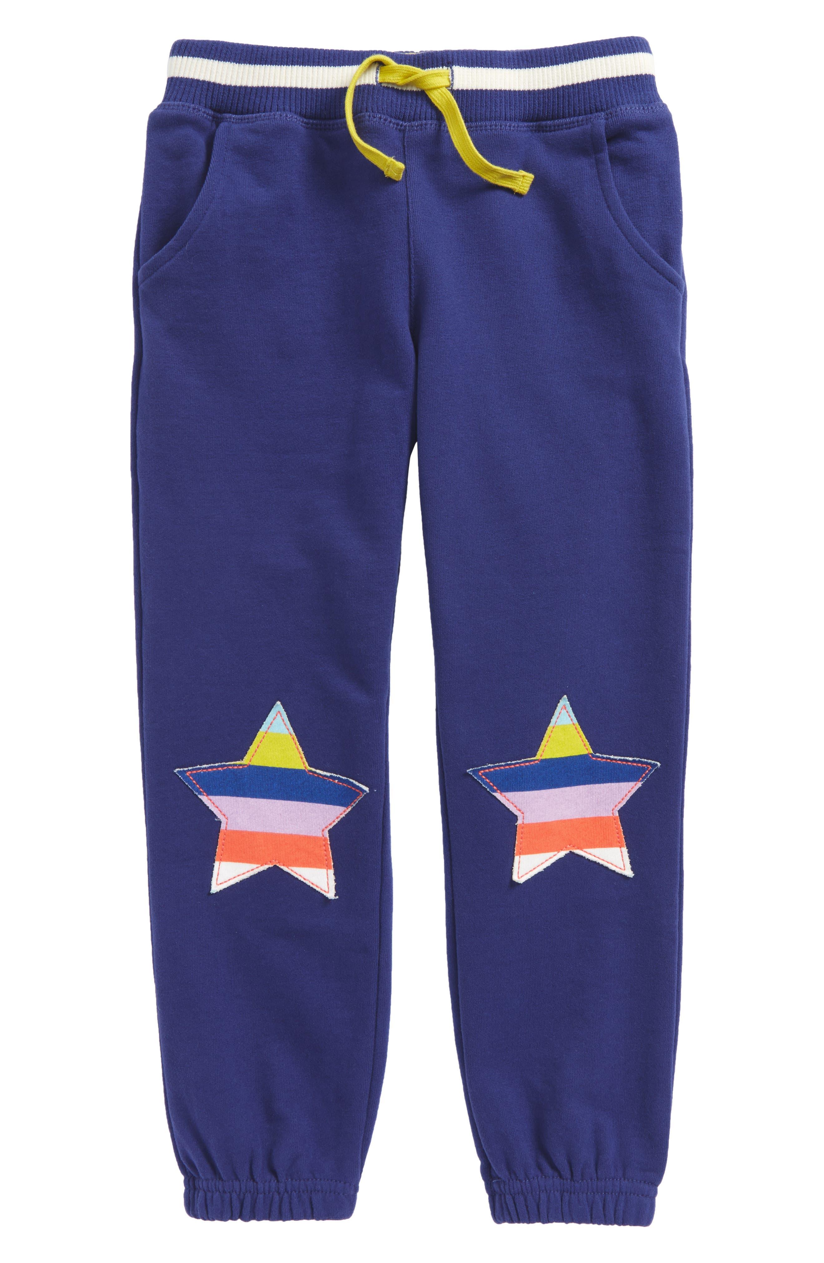 Mini Boden Appliqué Jogger Pants (Toddler Girls, Little Girls & Big Girls)