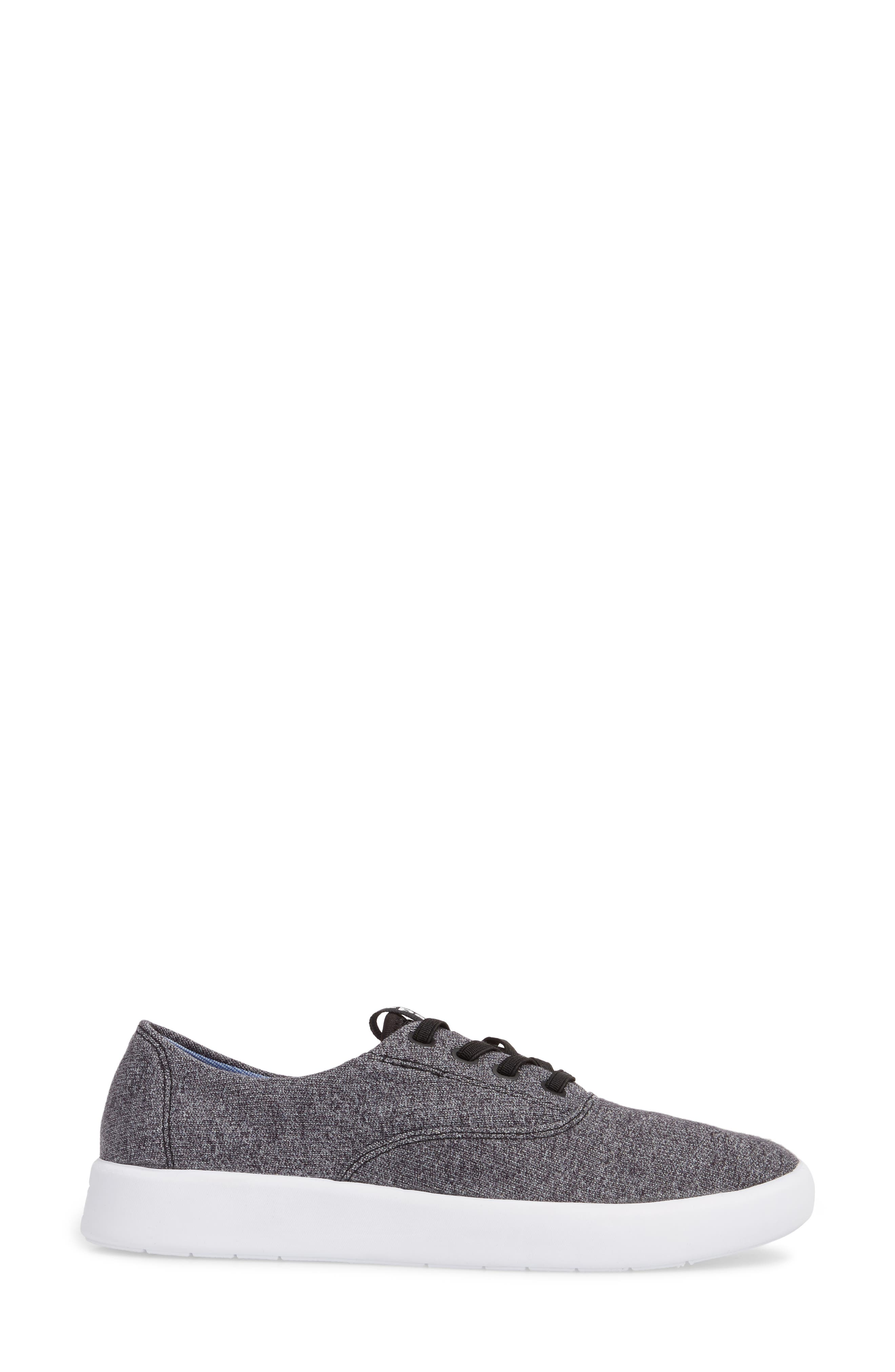 Studio Leap Sneaker,                             Alternate thumbnail 3, color,                             Charcoal