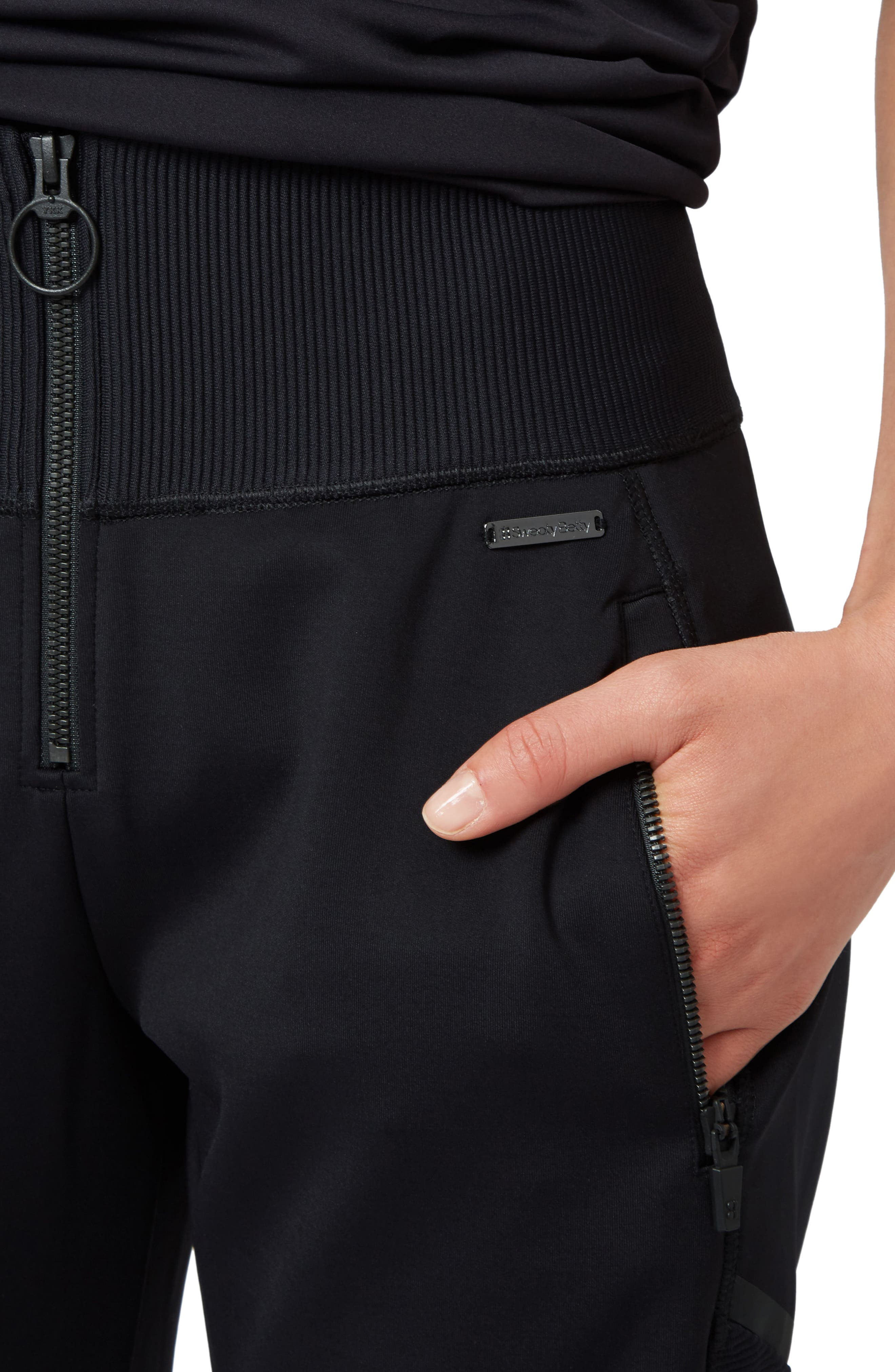Flex Sweatpants,                             Alternate thumbnail 4, color,                             Black