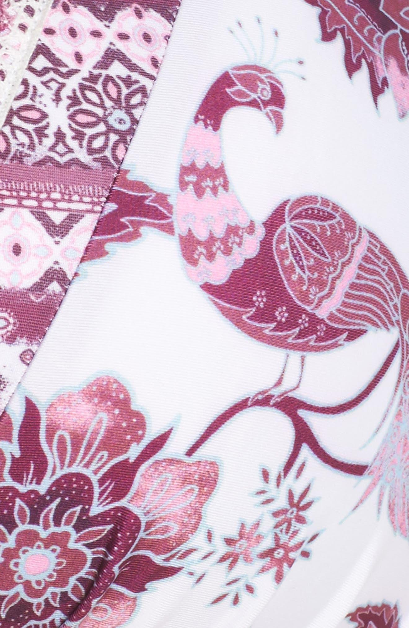 Tahiti Halter Bikini Top,                             Alternate thumbnail 9, color,                             Purple Multi