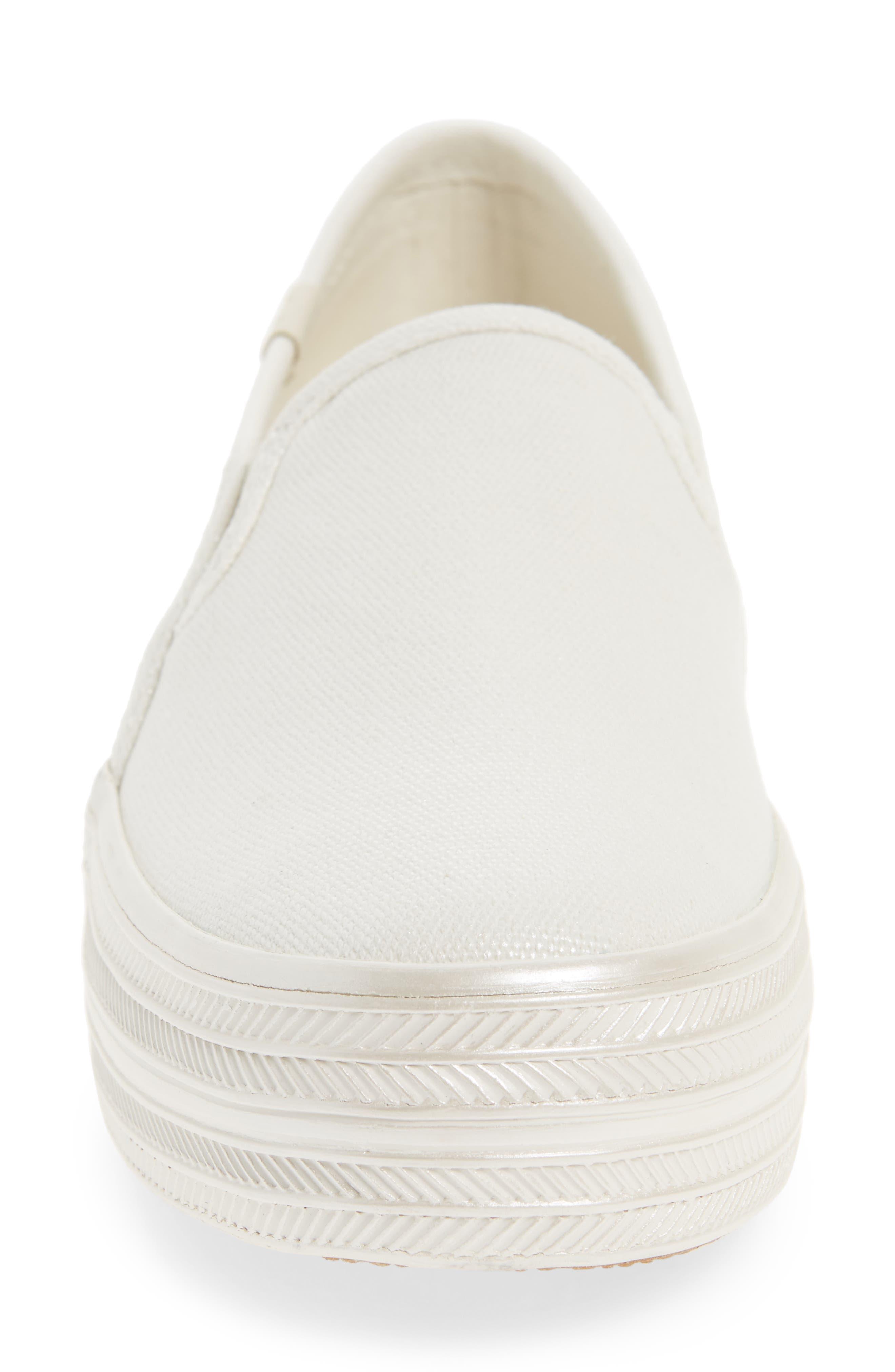 Alternate Image 4  - Keds® for kate spade new york triple decker slip-on platform sneaker (Women)