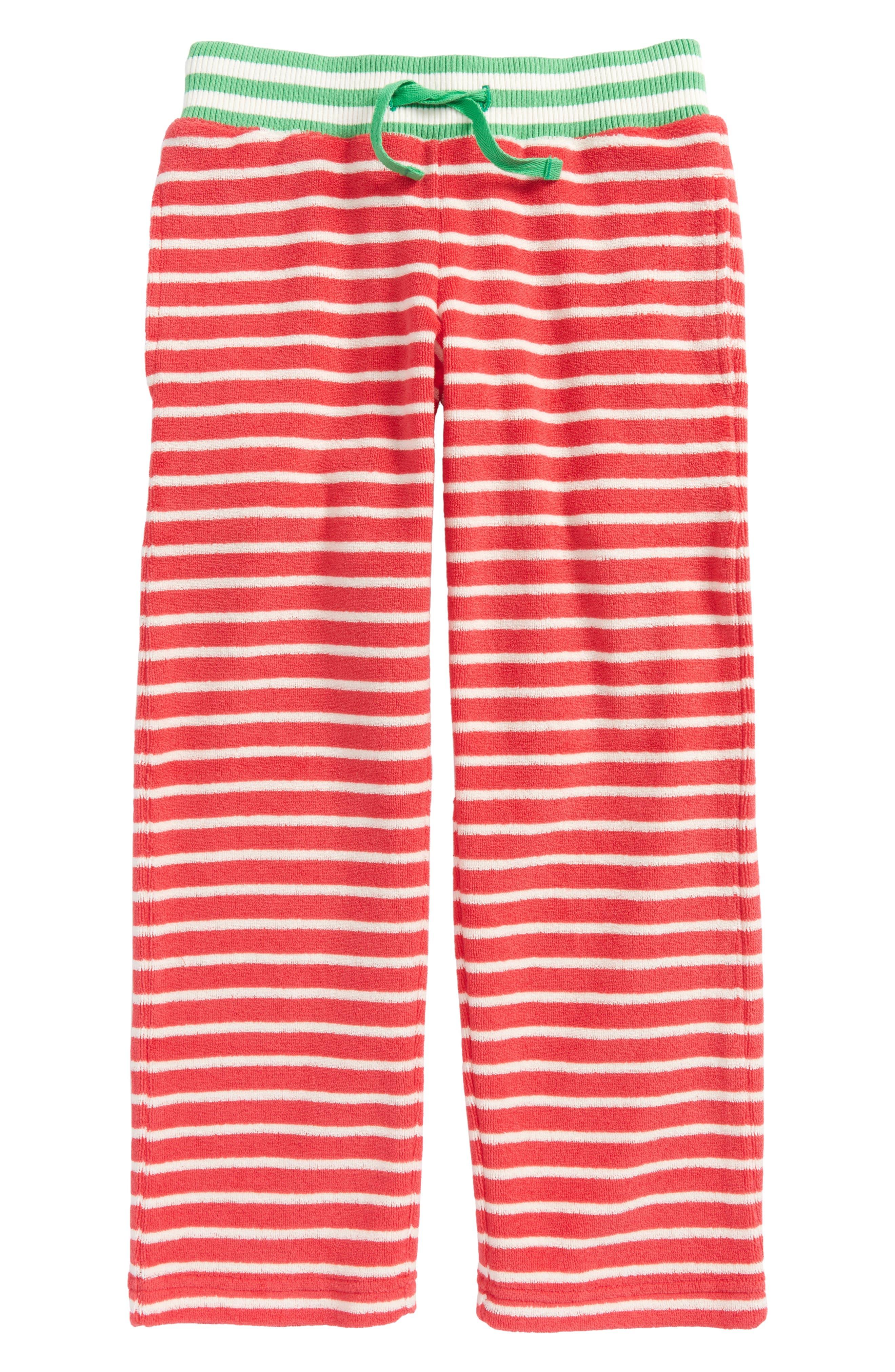 Mini Boden Towelling Sweatpants (Toddler Girls, Little Girls & Big Girls)