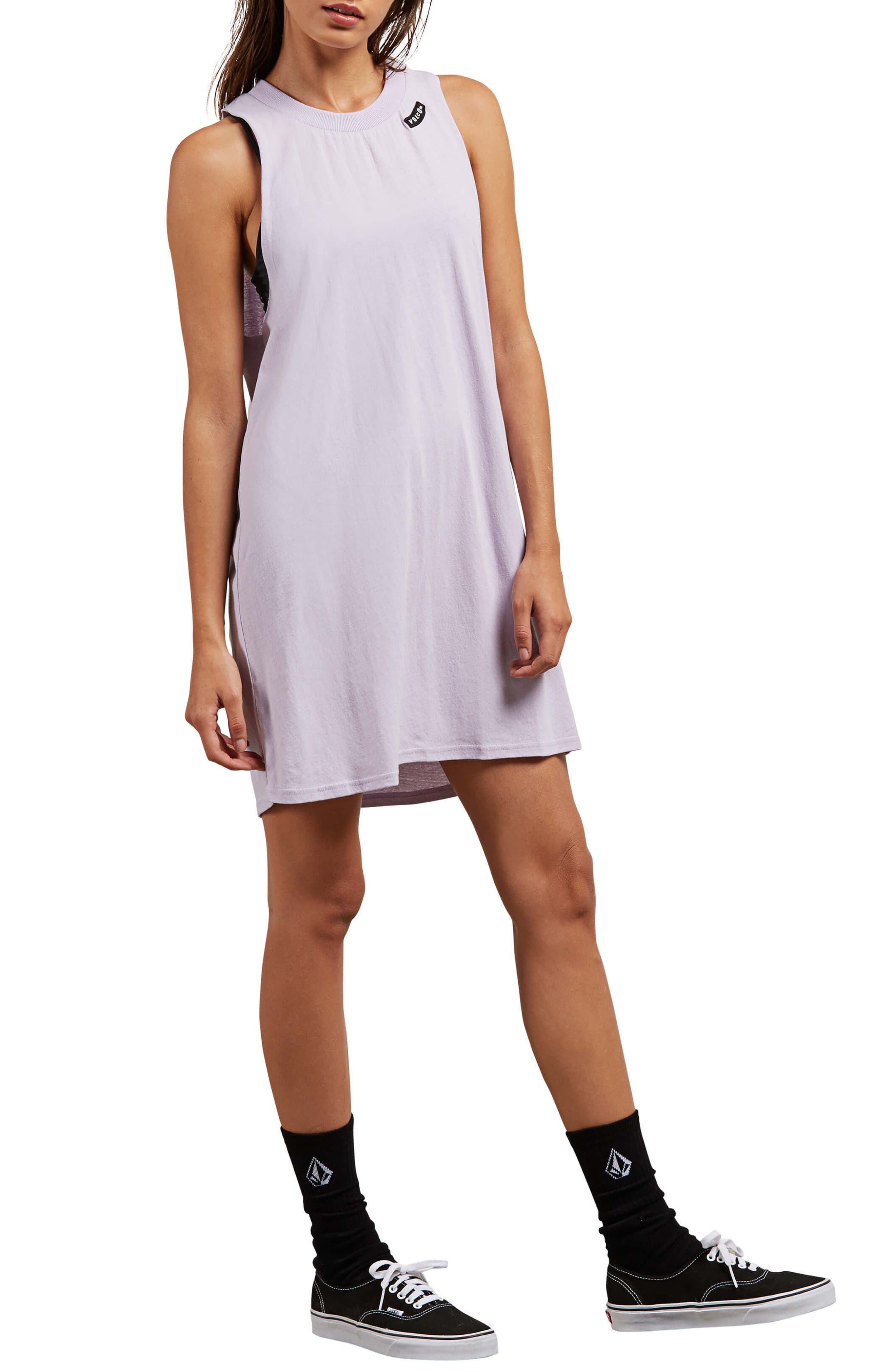 Day by Day Tank Dress,                         Main,                         color, Lavender