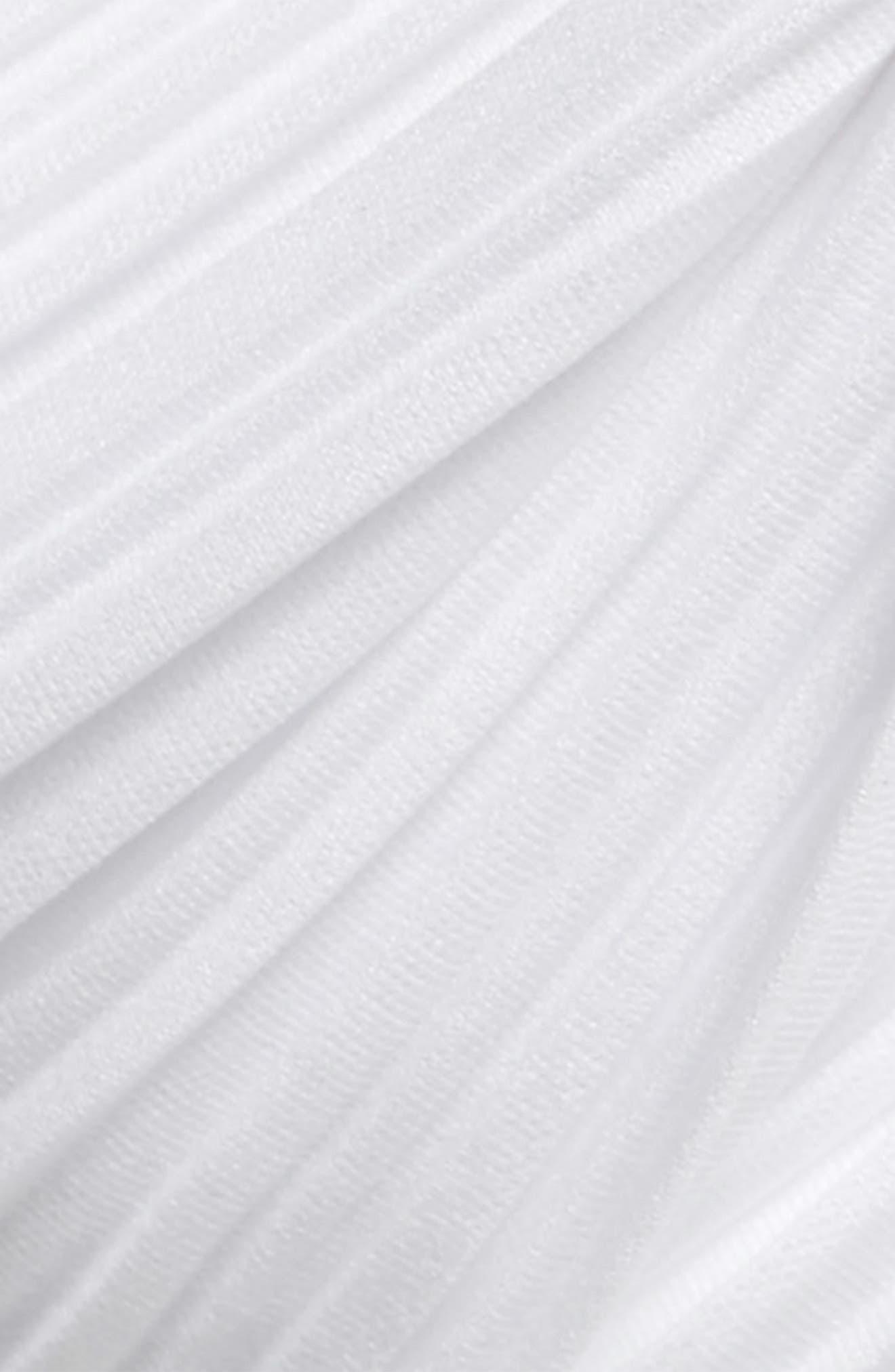 Pleated Turban Head Wrap,                             Alternate thumbnail 2, color,                             White