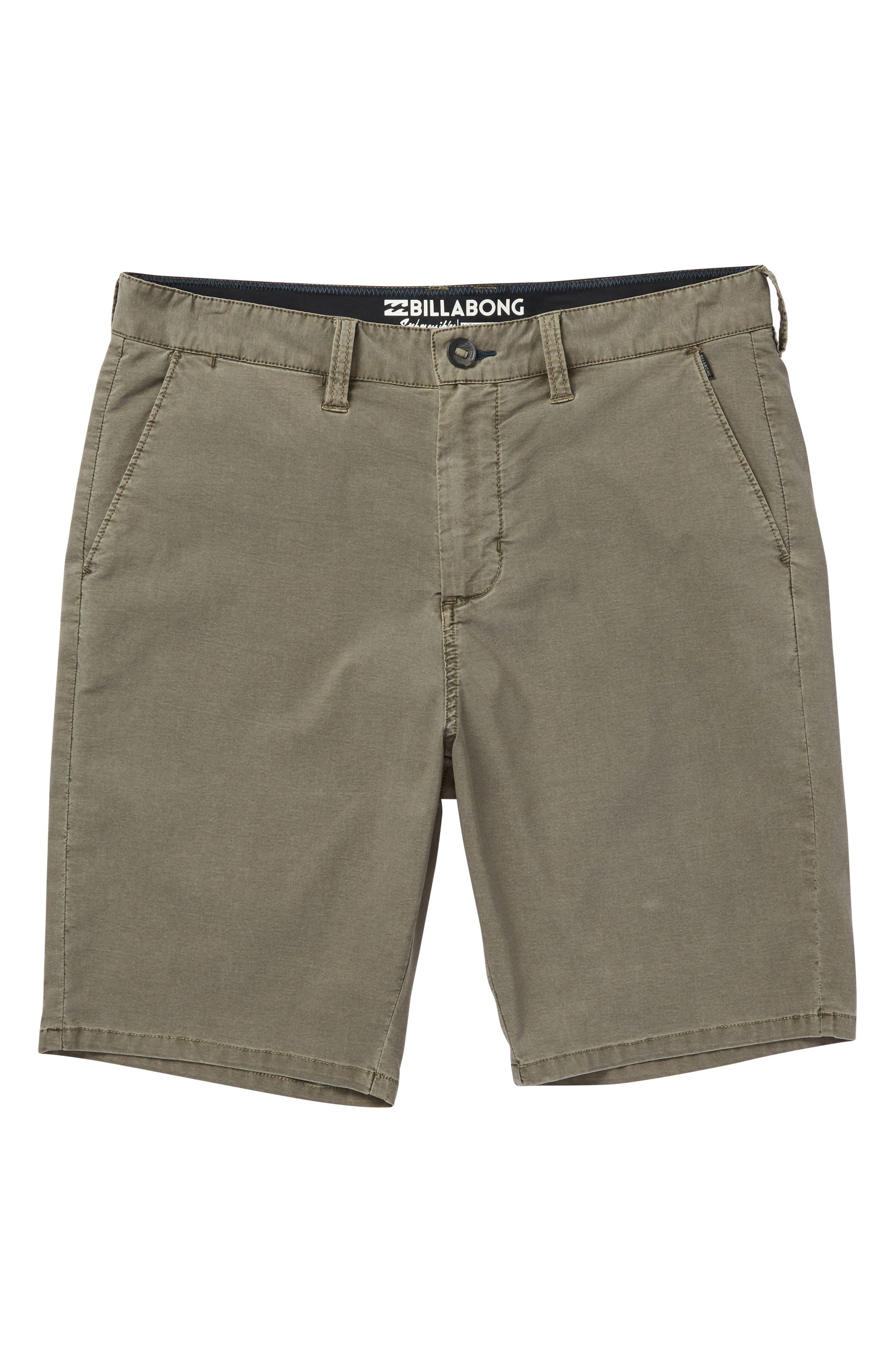 New Order X Overdye Hybrid Shorts,                         Main,                         color, Khaki