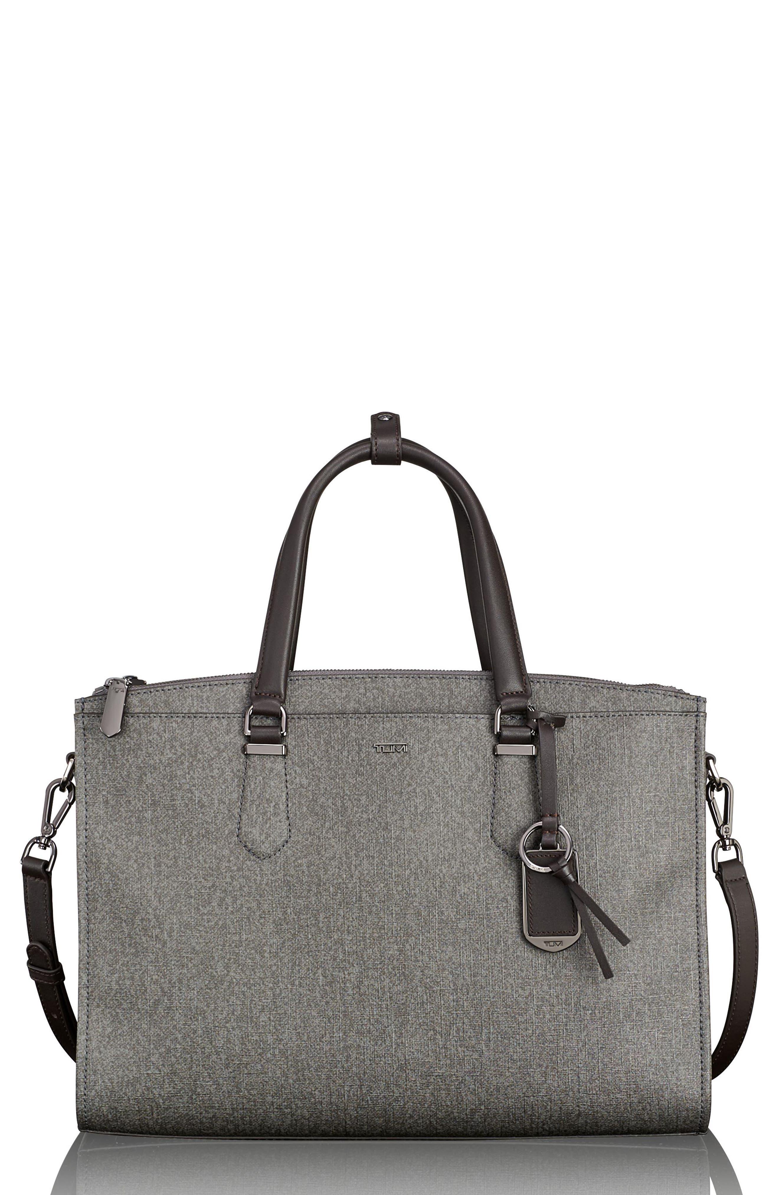 Stanton – Esme Business Briefcase,                             Main thumbnail 1, color,                             Earl Grey