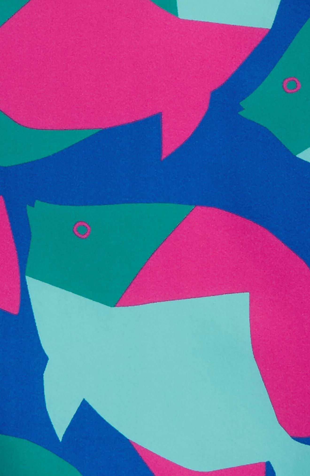 Long Sleeve Rashguard,                             Alternate thumbnail 2, color,                             Tropical Fish
