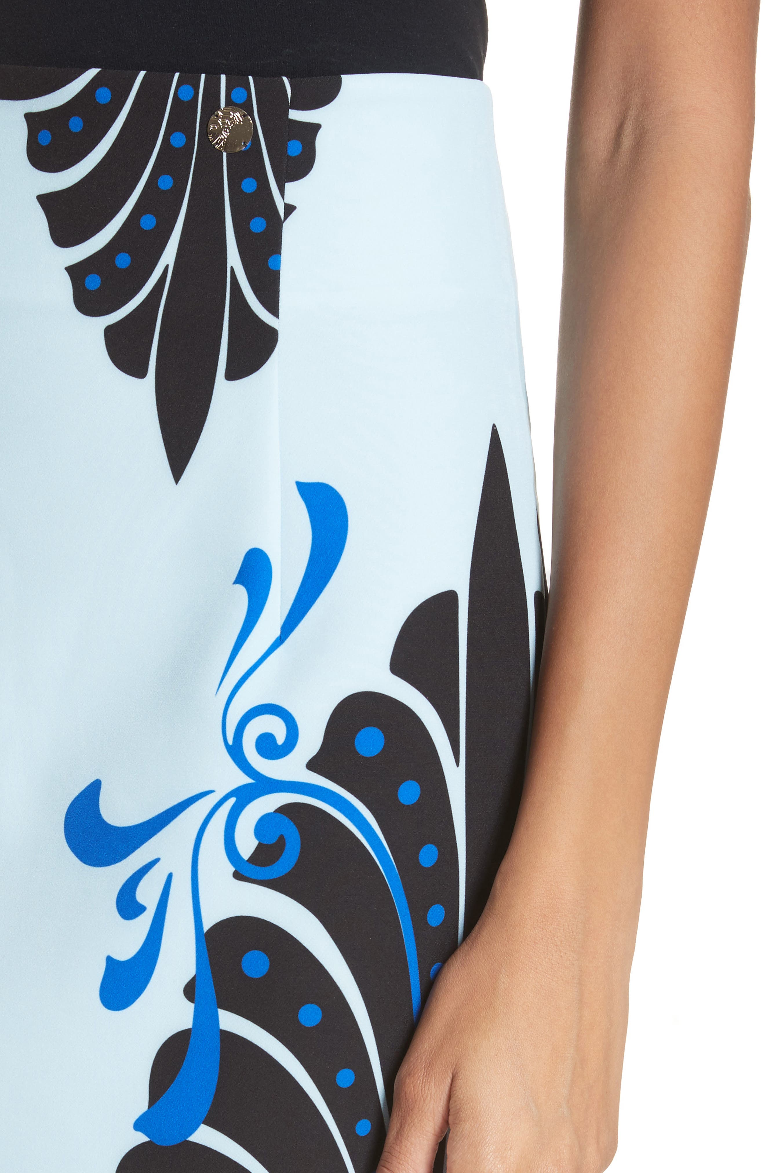Alternate Image 4  - Versace Collection Eros Cady Pencil Skirt