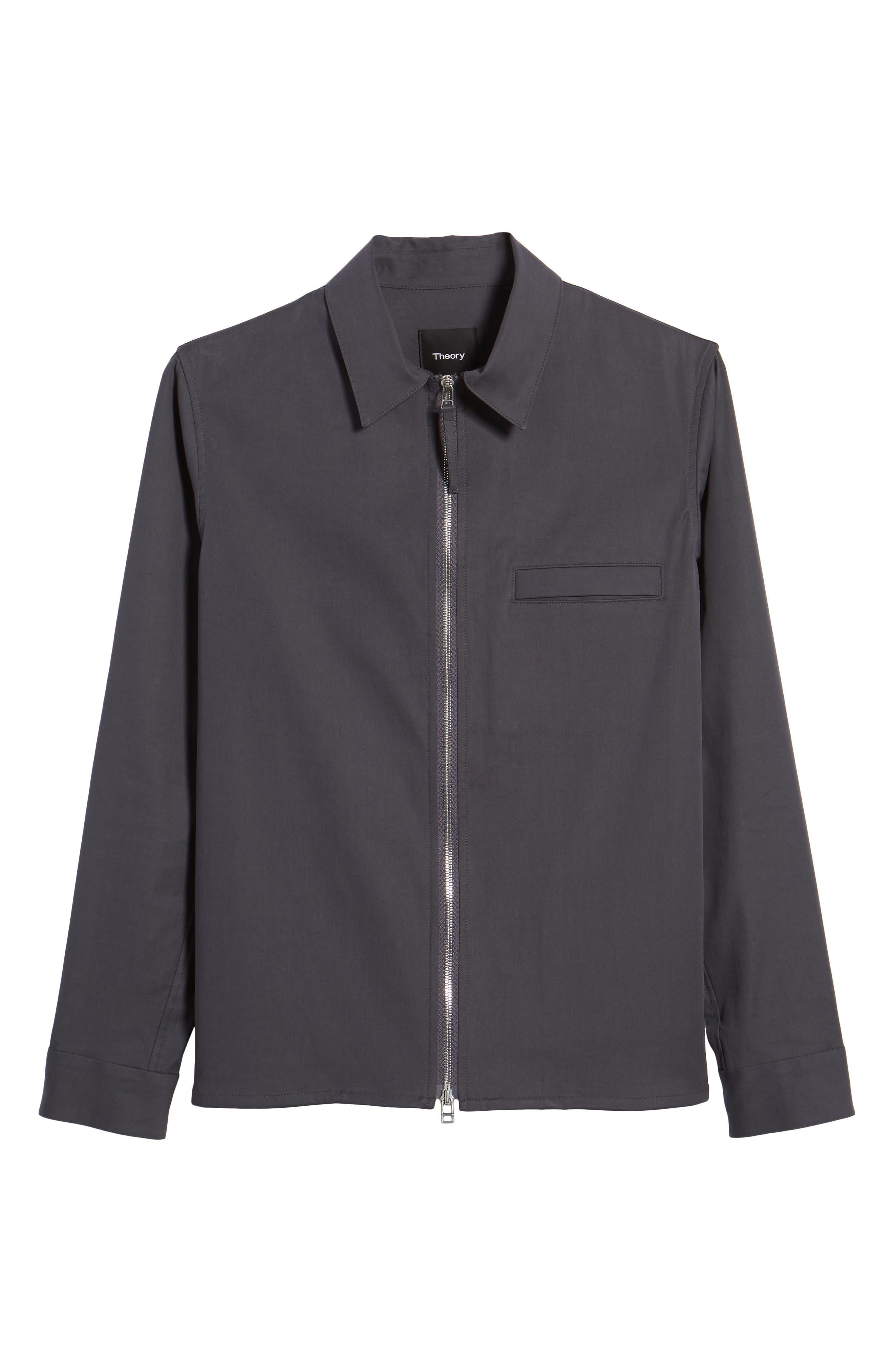 Alternate Image 6  - Theory Rye Holtham Shirt Jacket