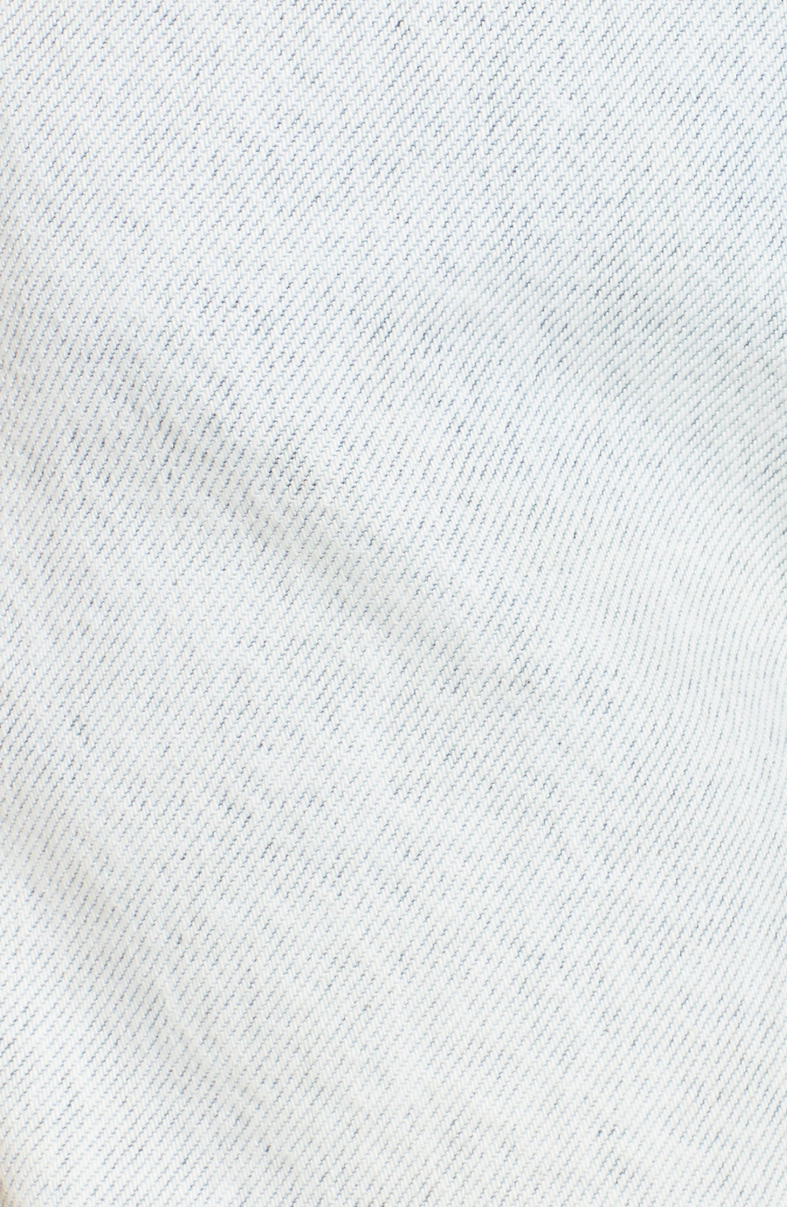 x Margherita Amore Denim Cutoff Shorts,                             Alternate thumbnail 5, color,                             Capriember