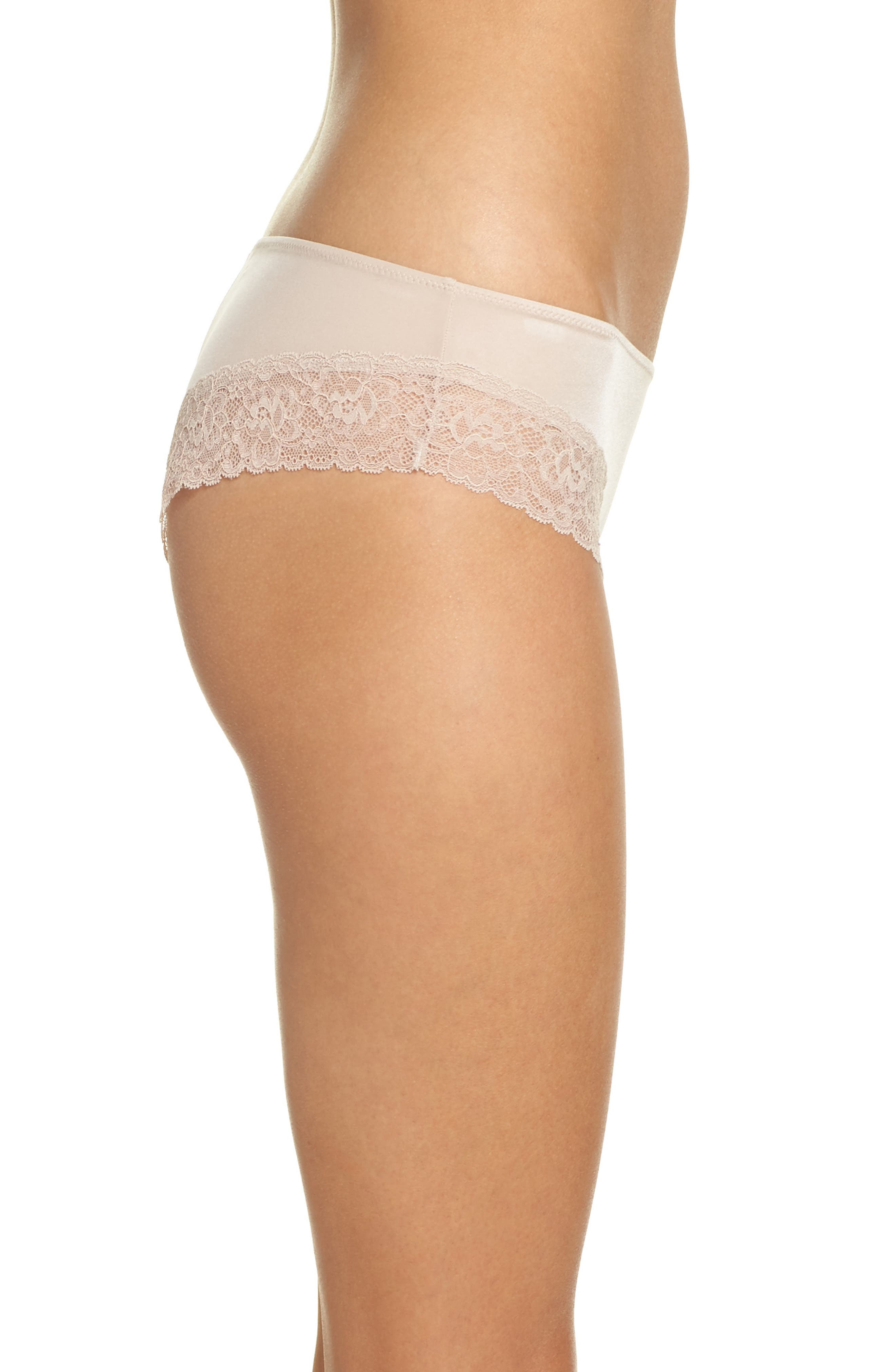 Bloom Chikini Hipster Briefs,                             Alternate thumbnail 3, color,                             Cashmere