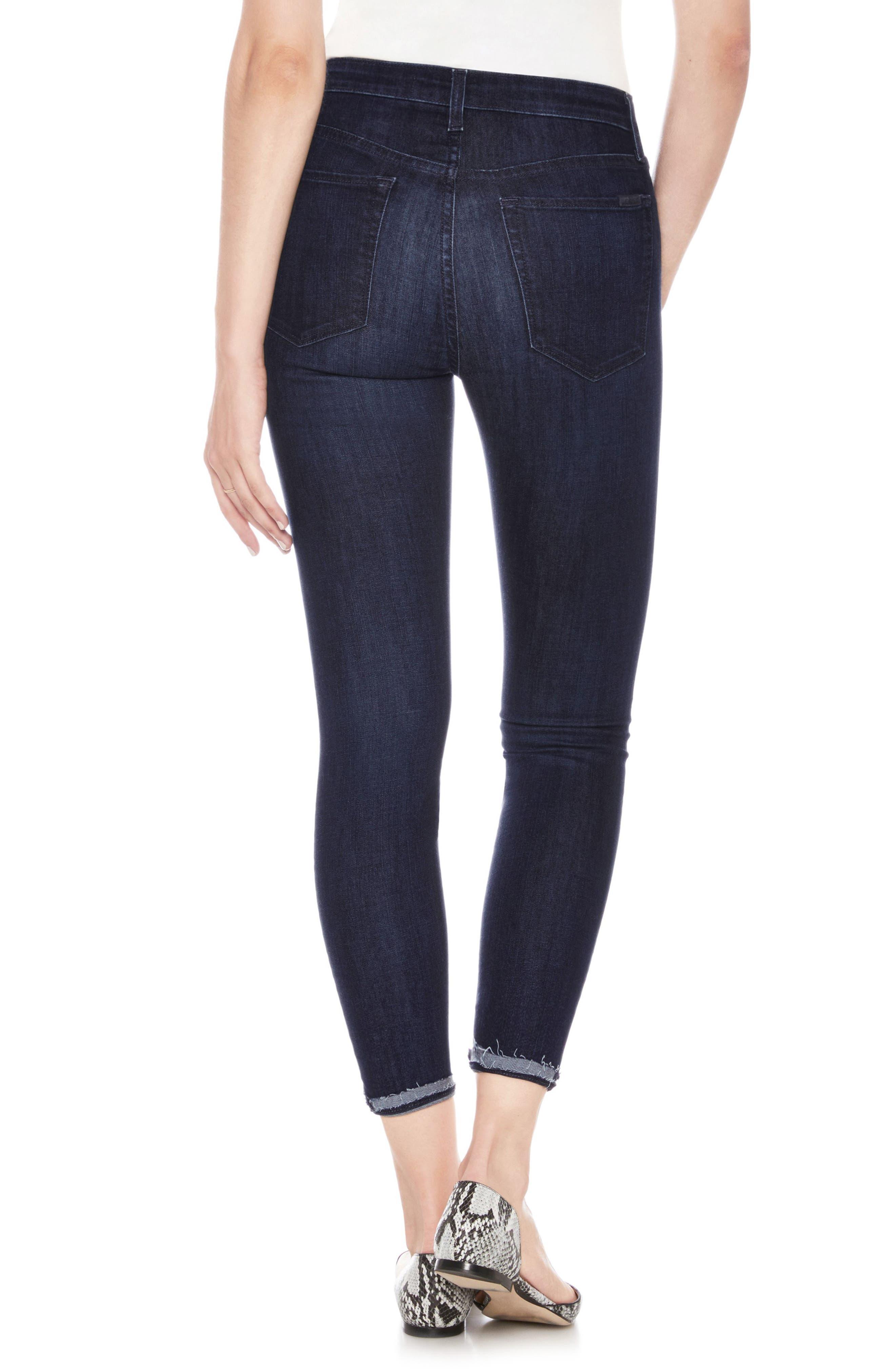 Charlie High Waist Crop Skinny Jeans,                             Alternate thumbnail 2, color,                             Laughlin